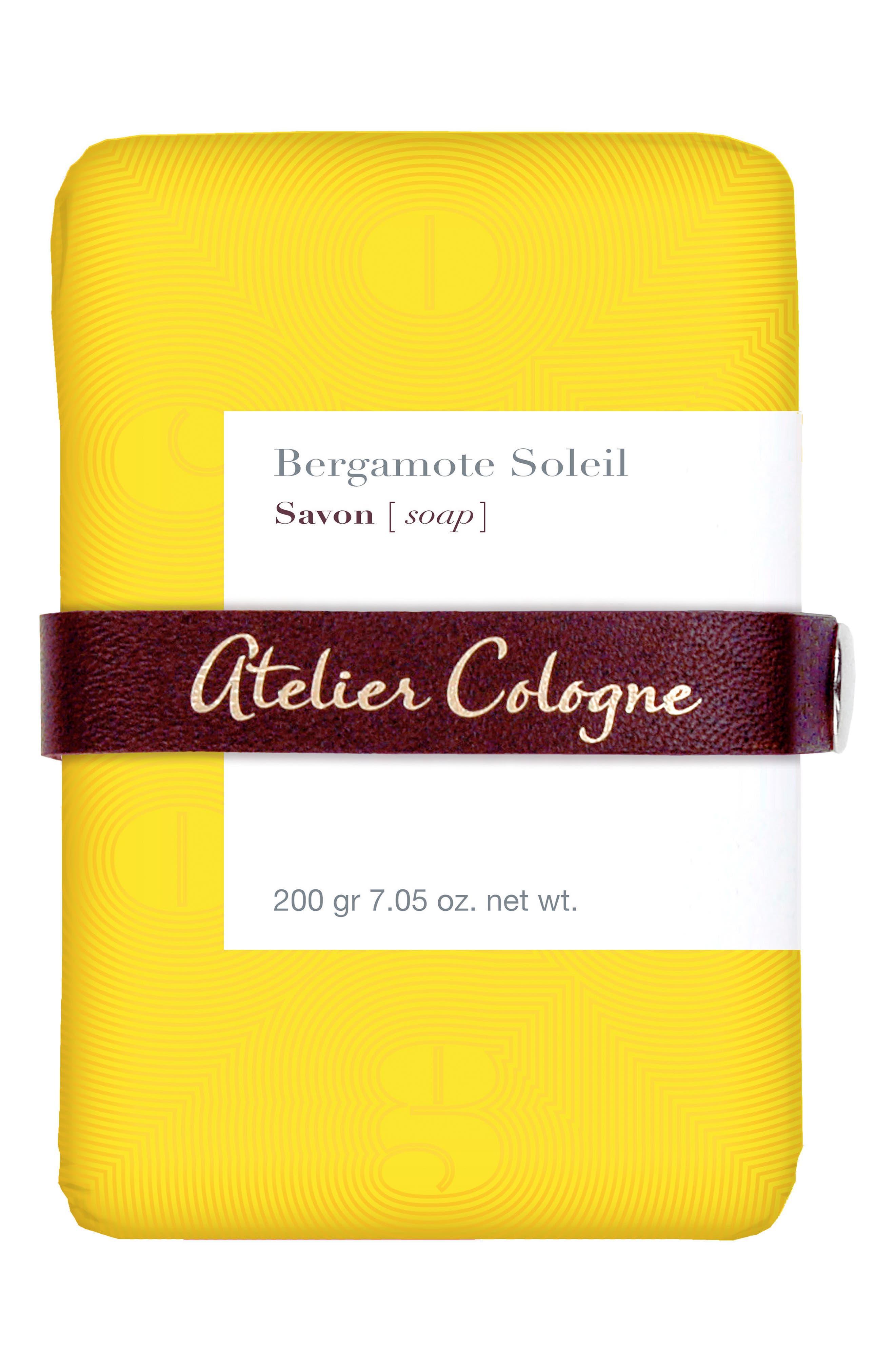Bergamote Soleil Soap,                             Main thumbnail 1, color,                             NO COLOR