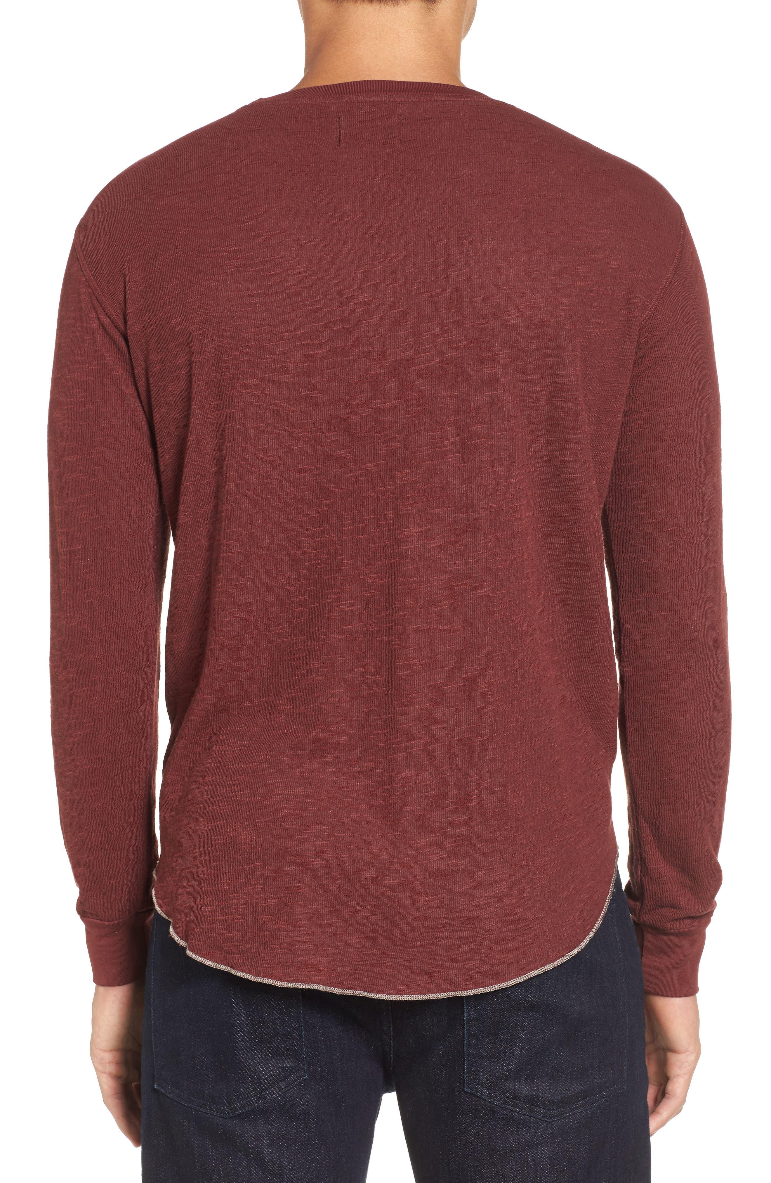 Double Layer Slim Crewneck T-Shirt,                             Alternate thumbnail 14, color,