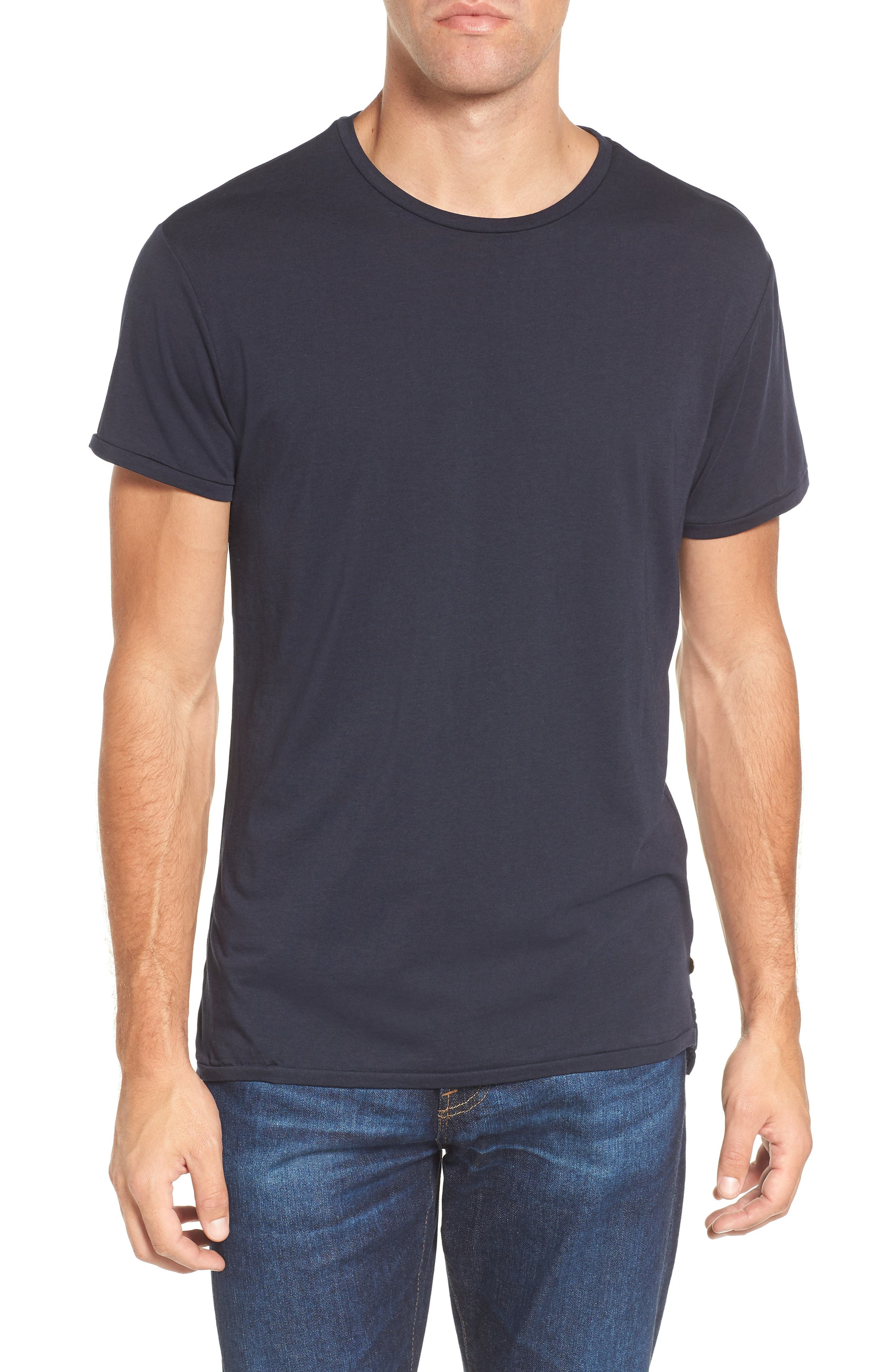 Chic Crewneck T-Shirt,                         Main,                         color, 401