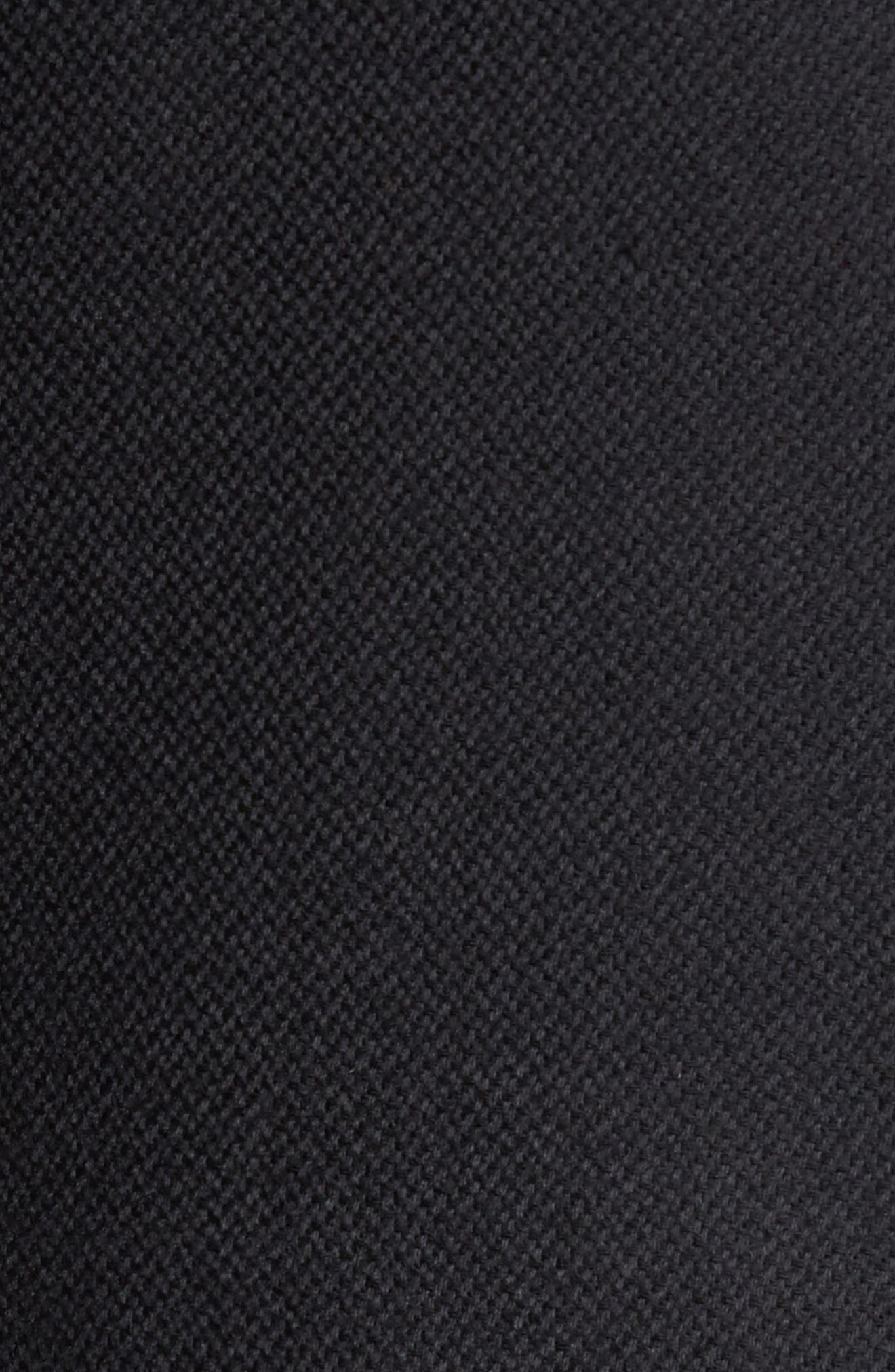 Classic Fit Wool & Cashmere Hybrid Coat,                             Alternate thumbnail 6, color,                             001