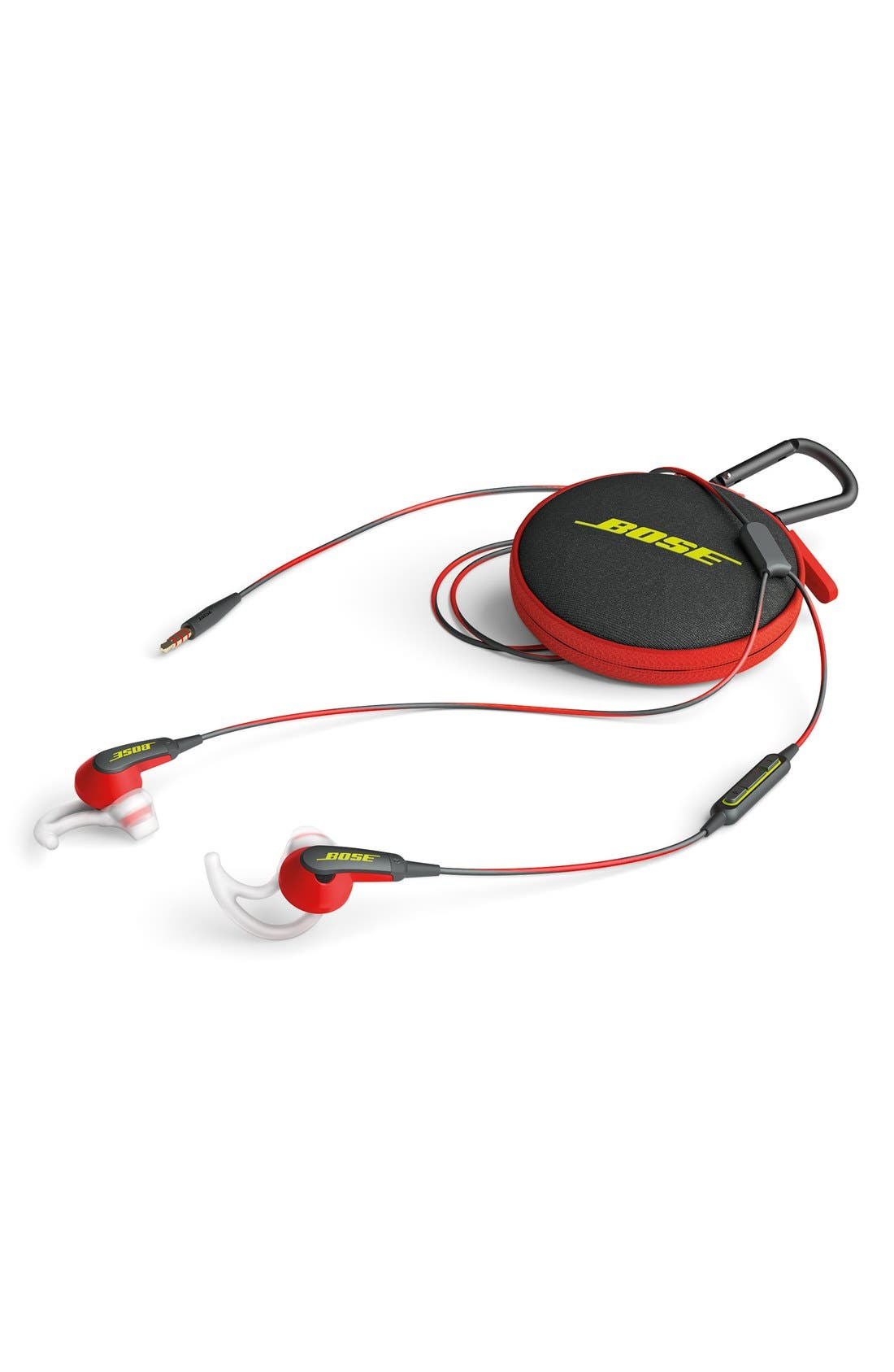 SoundSport<sup>®</sup> In-Ear Headphones,                             Alternate thumbnail 4, color,                             POWER RED