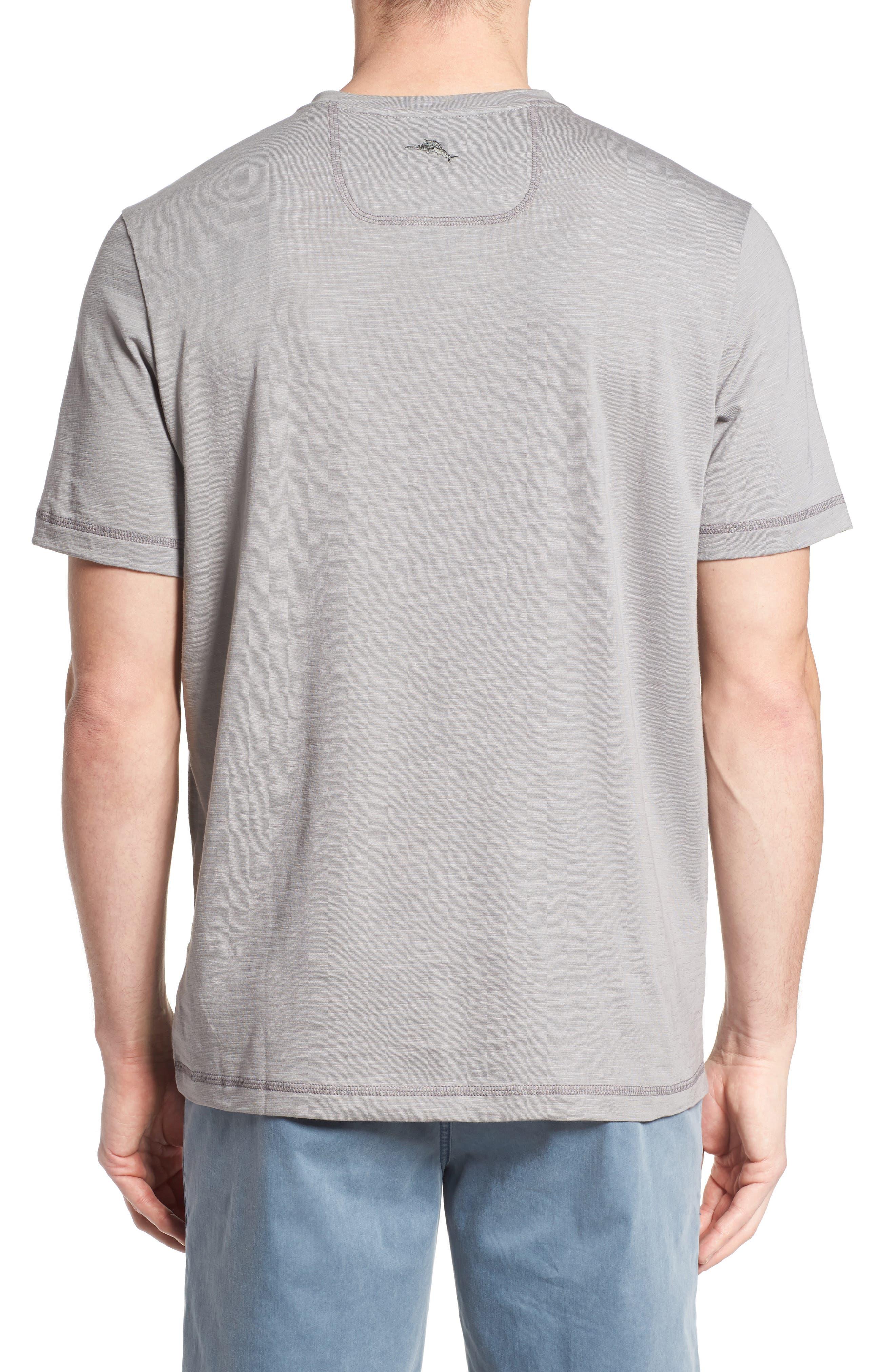 Portside Palms V-Neck T-Shirt,                             Alternate thumbnail 11, color,