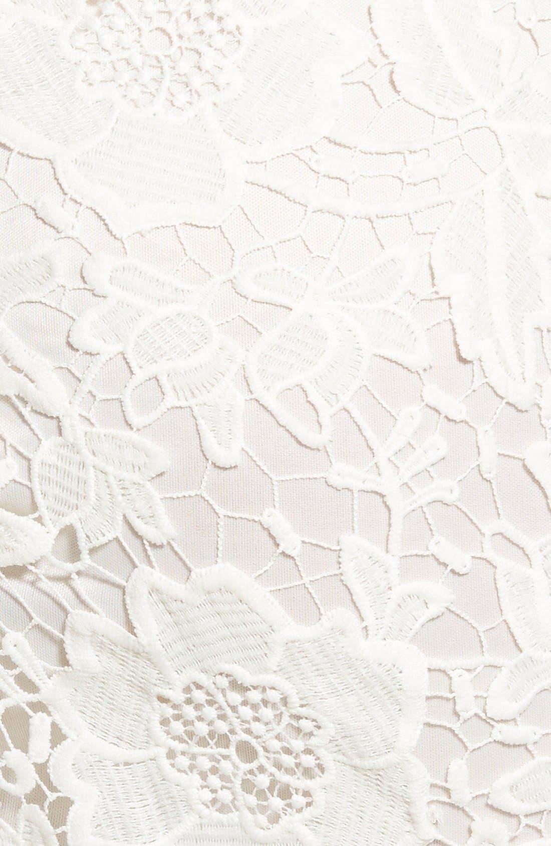 'Samantha' Lace Dress,                             Alternate thumbnail 10, color,