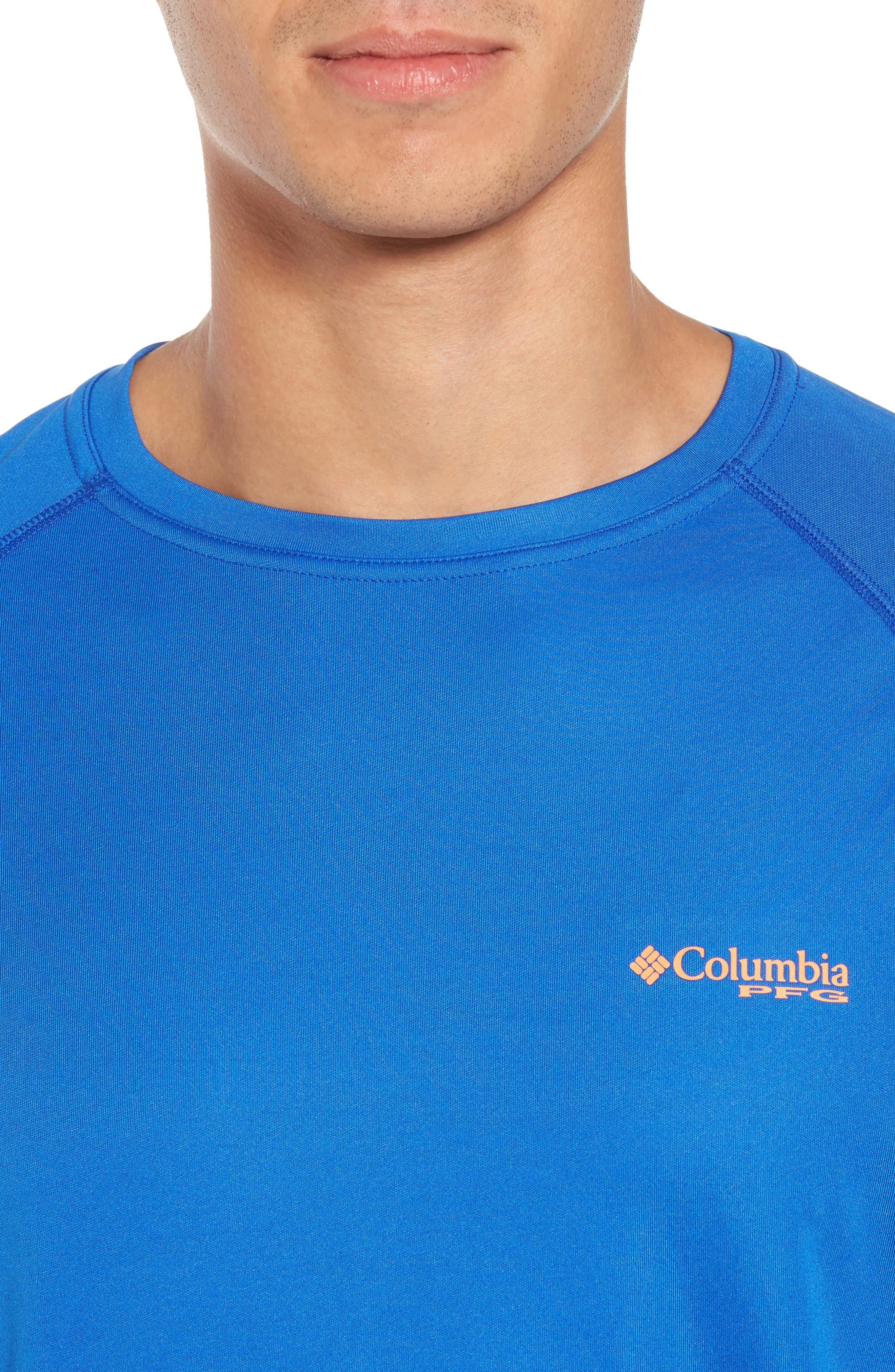 PFG Terminal Tackle Performance Long Sleeve T-Shirt,                             Alternate thumbnail 33, color,
