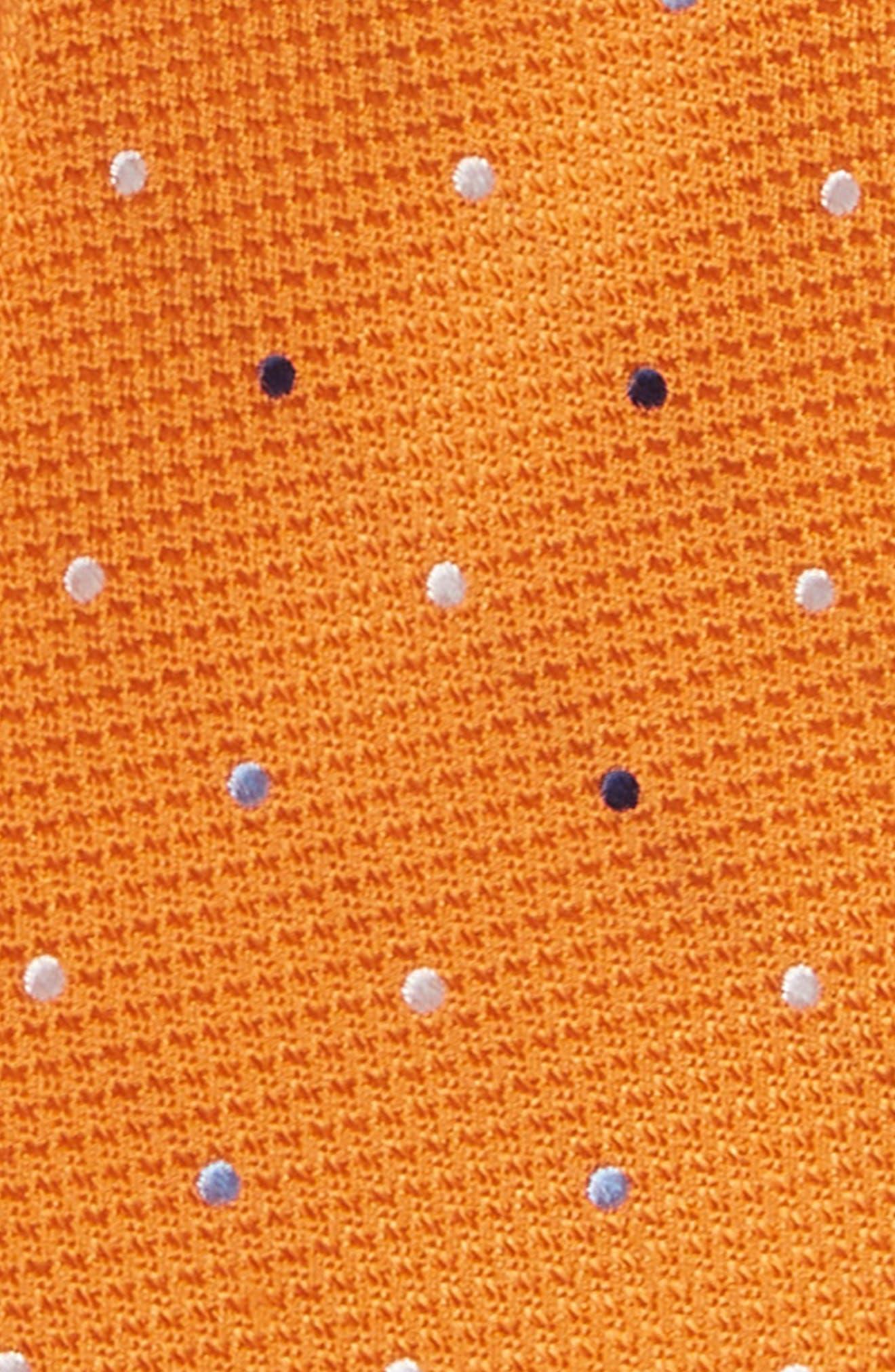 Texture Dot Silk Tie,                             Alternate thumbnail 2, color,