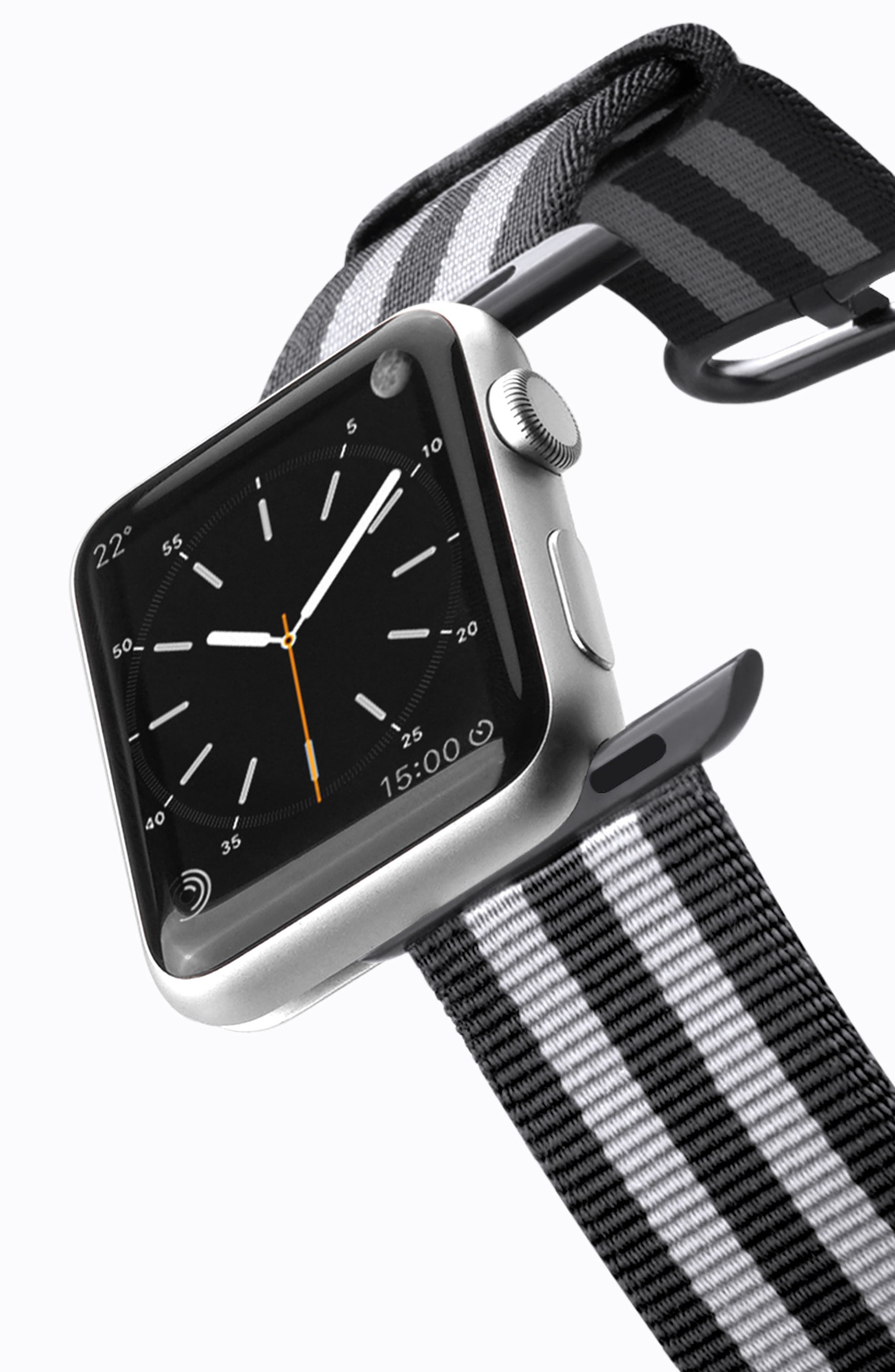Nylon Apple Watch Strap, 38mm,                             Alternate thumbnail 14, color,