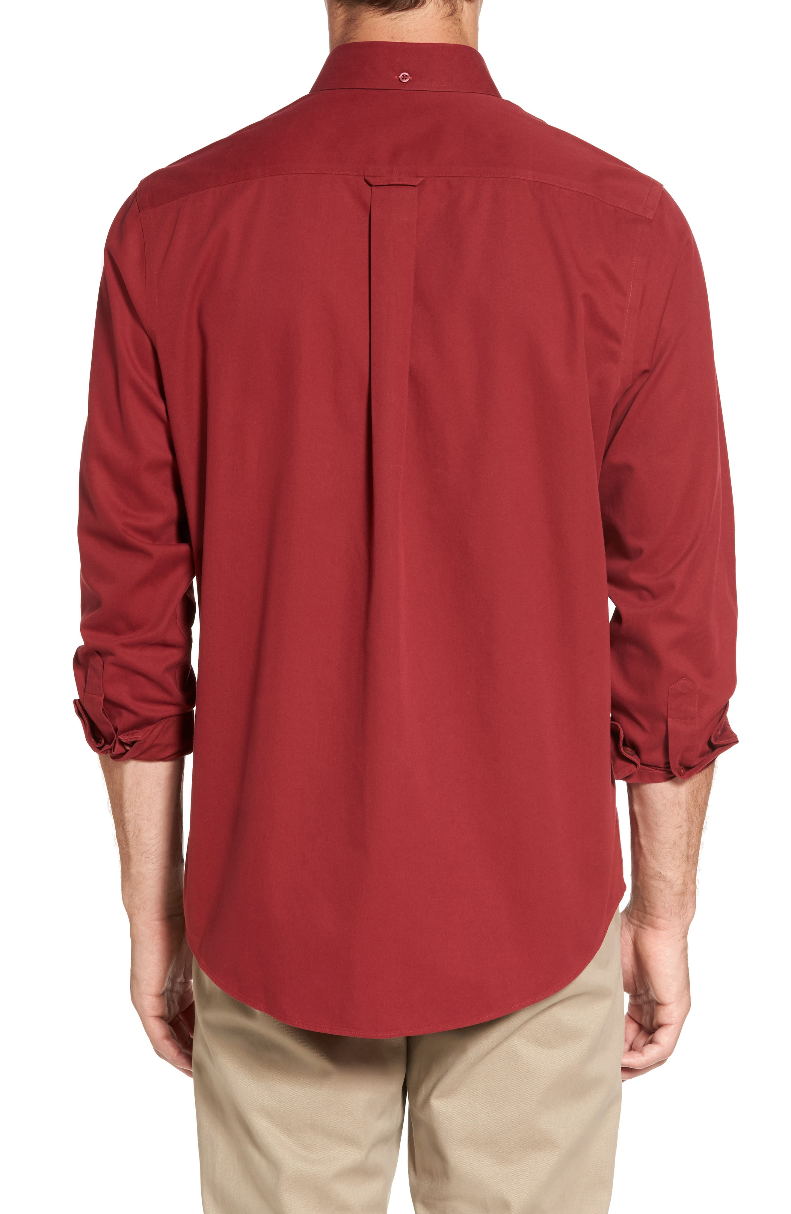 Smartcare<sup>™</sup> Traditional Fit Twill Boat Shirt,                             Alternate thumbnail 103, color,
