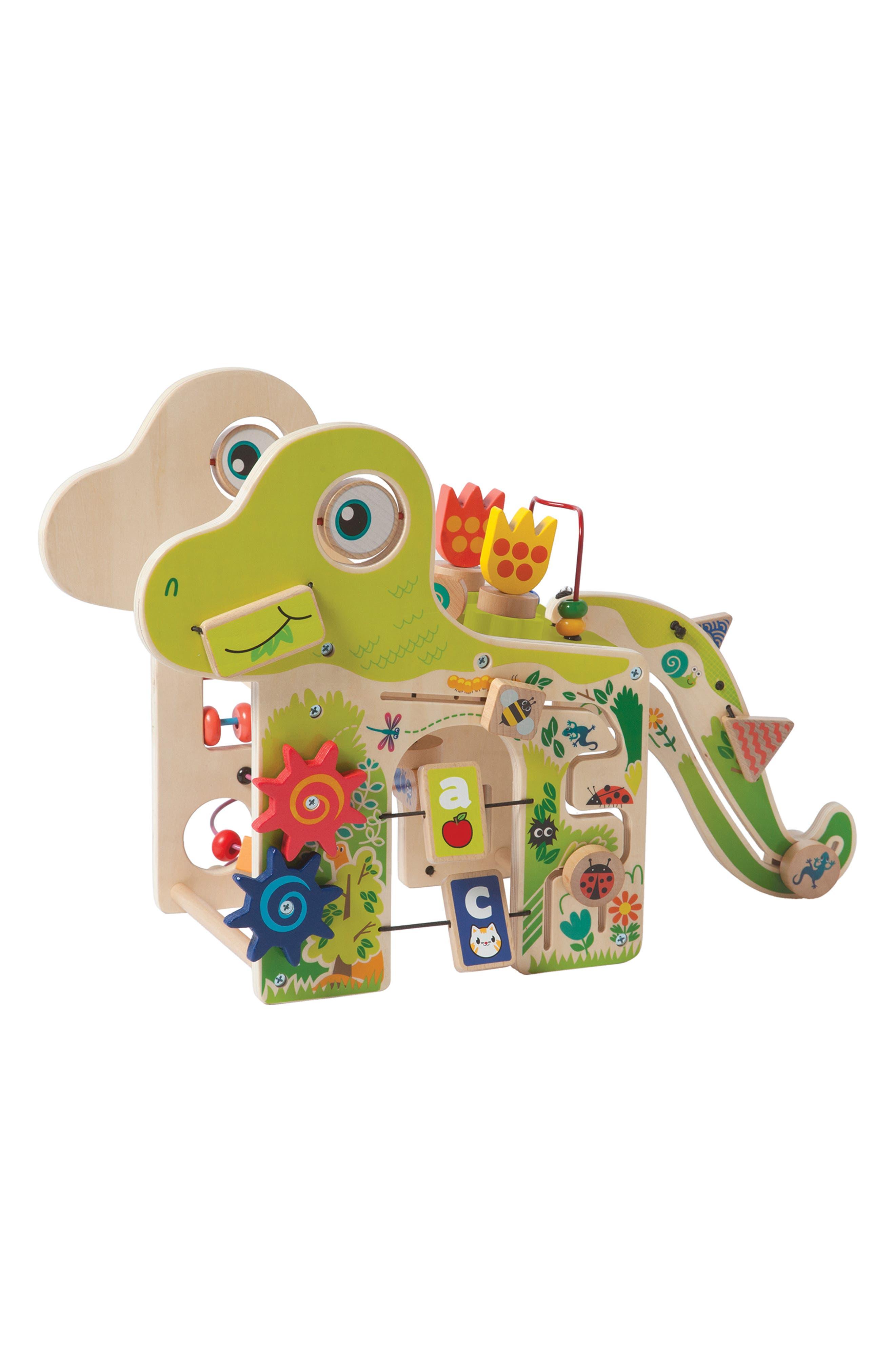 Wooden Playful Dino Activity Center,                             Main thumbnail 1, color,                             300