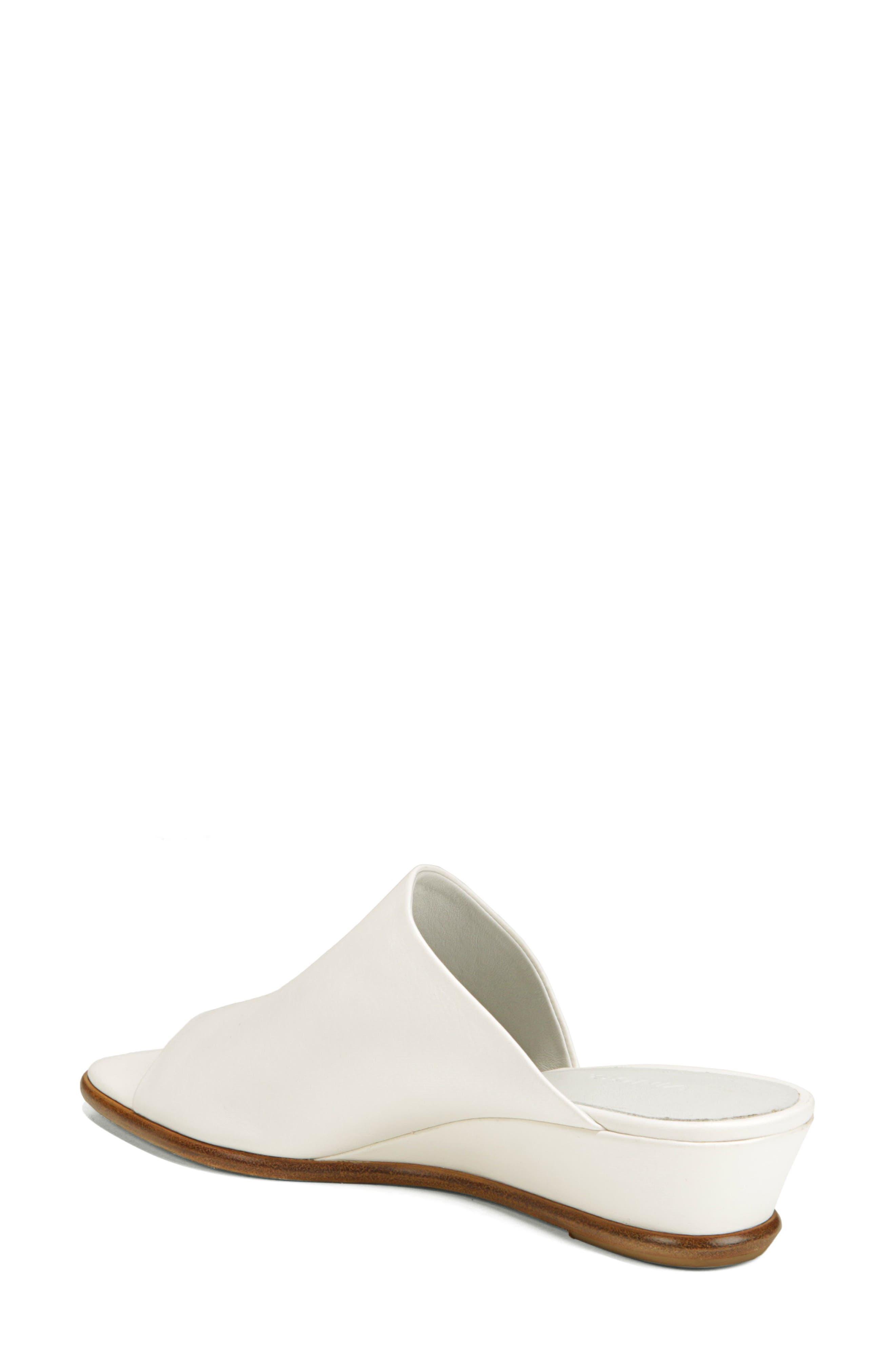 VINCE,                             Duvall Asymmetrical Wedge Sandal,                             Alternate thumbnail 2, color,                             OFF WHITE