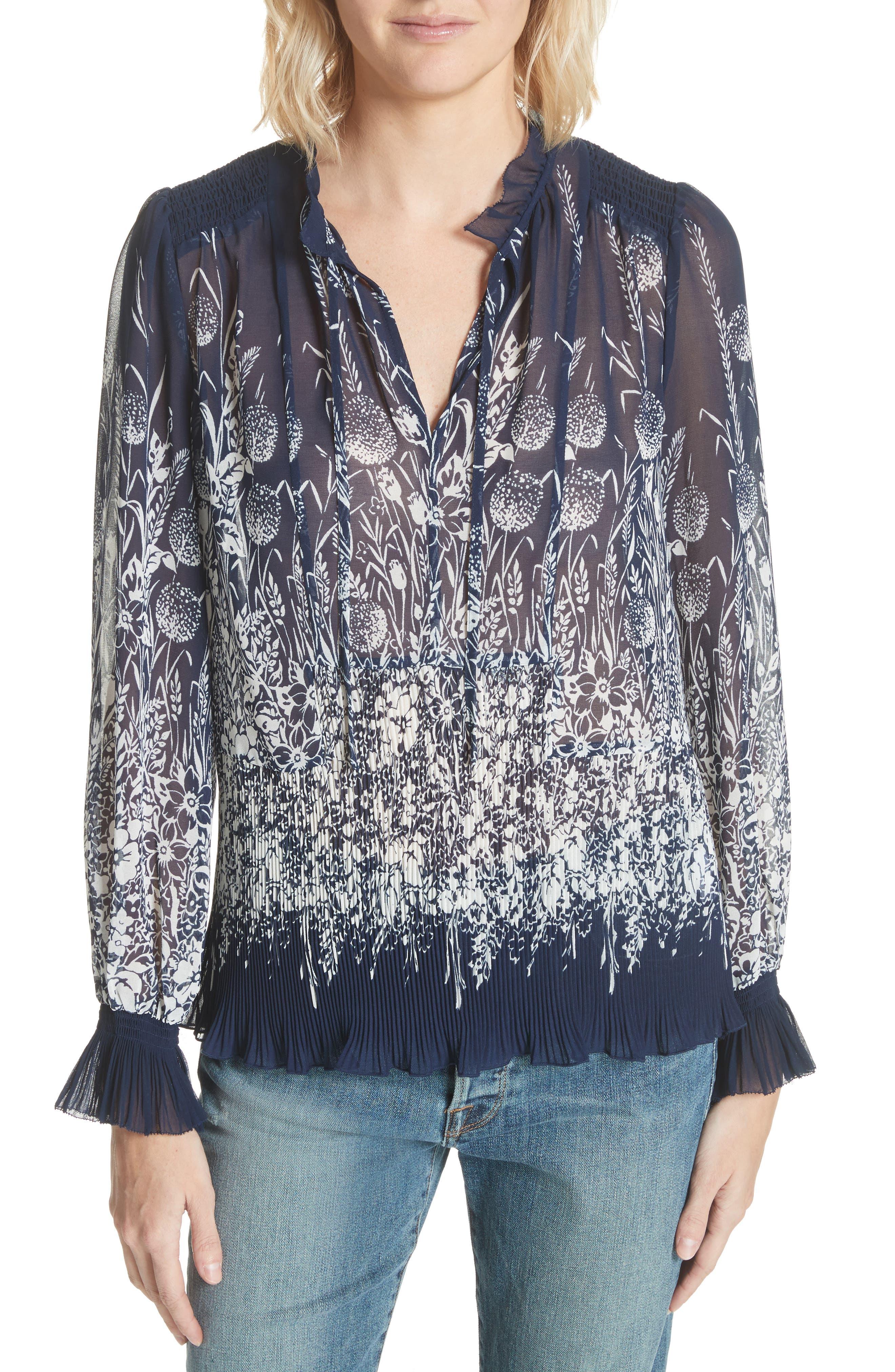 Rita Floral Top,                         Main,                         color,