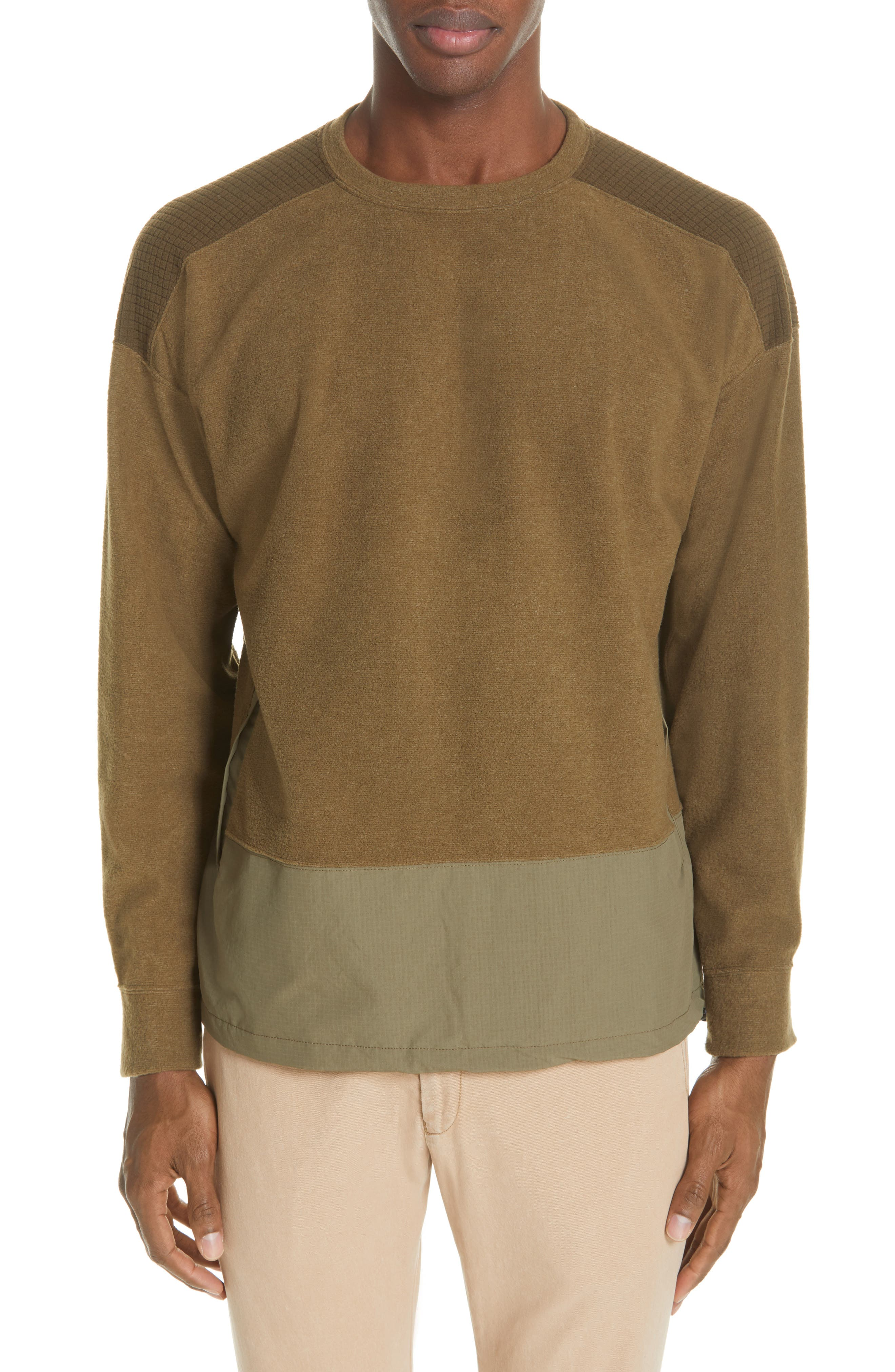 Remi Relief Ripstop Border Fleece Pullover