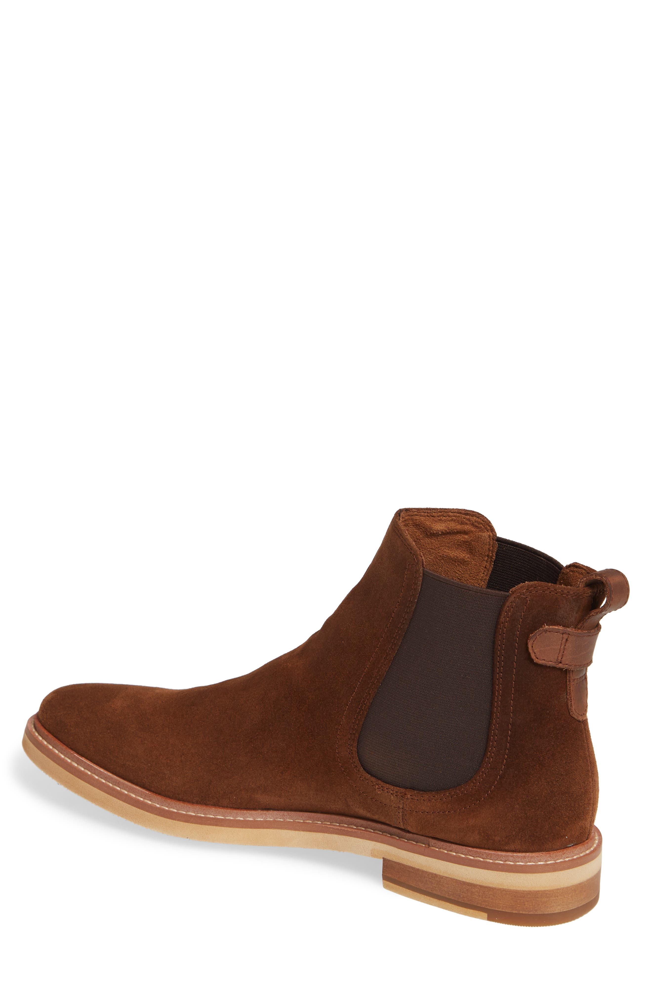 Whistler Mid Chelsea Boot,                             Alternate thumbnail 2, color,                             TOBACCO SUEDE