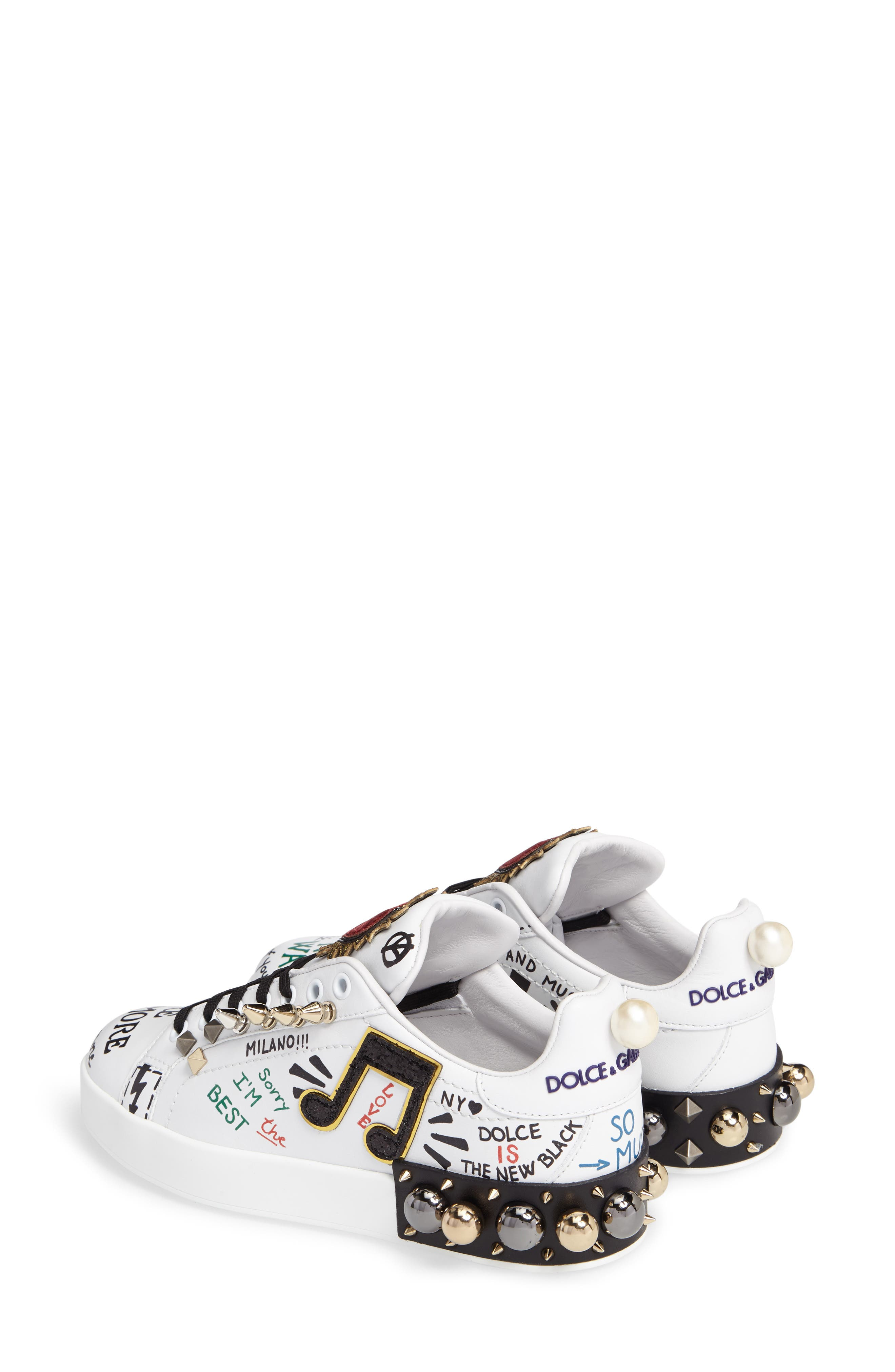 Mixed Media Sneaker,                             Alternate thumbnail 2, color,                             100