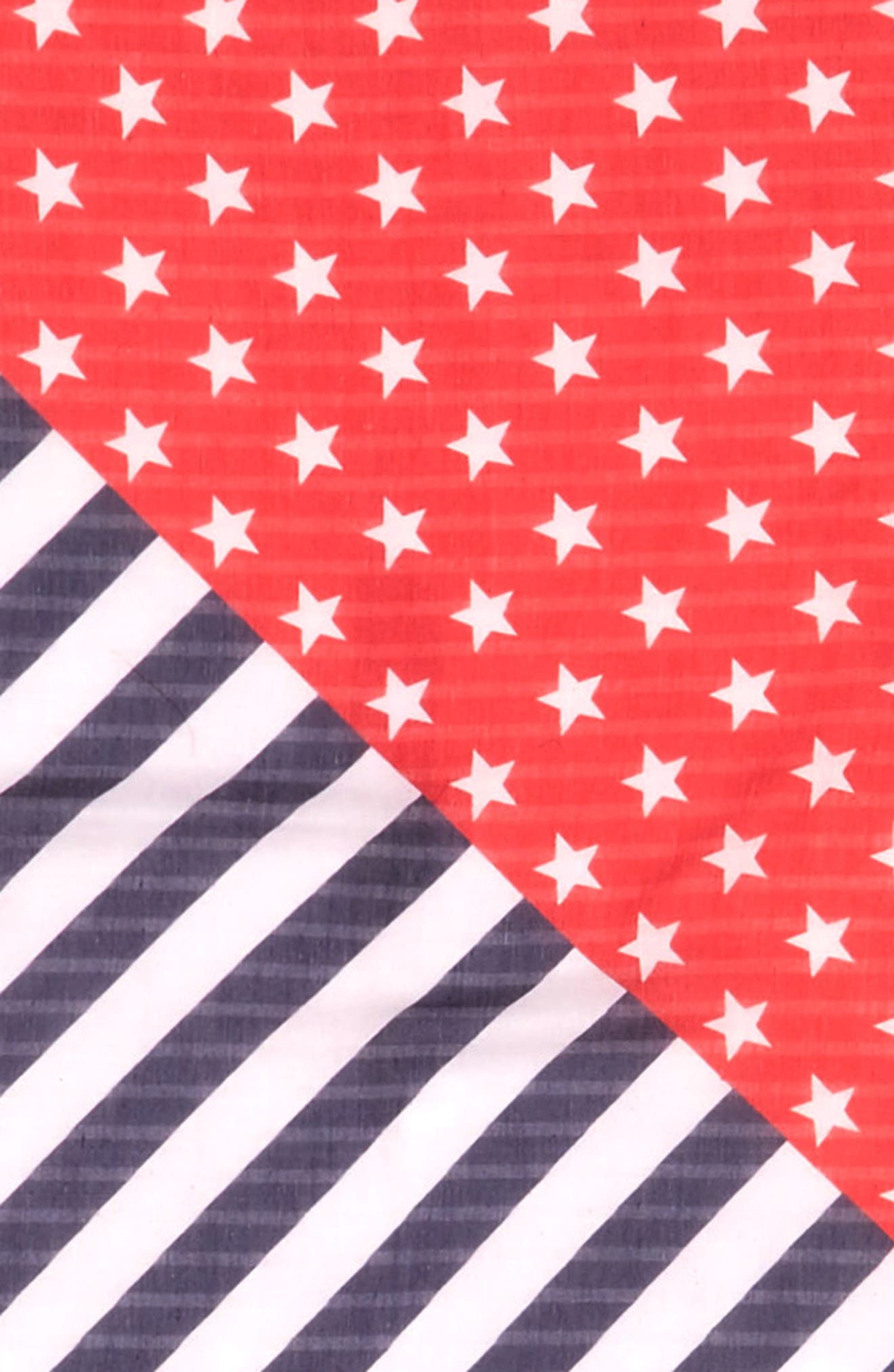 American Flag Square Scarf,                             Alternate thumbnail 3, color,                             400