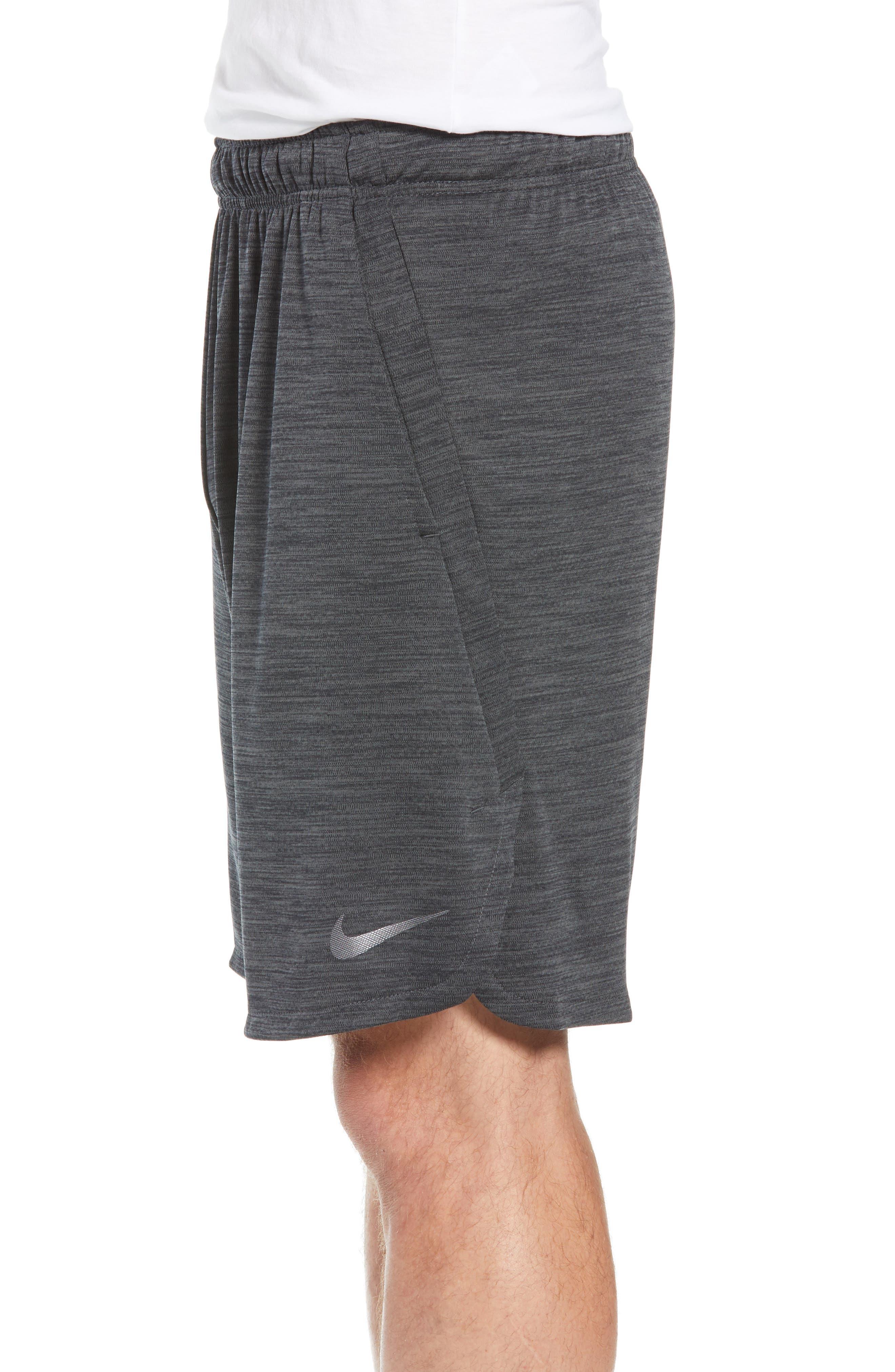 Dry Training Shorts,                             Alternate thumbnail 3, color,                             BLACK
