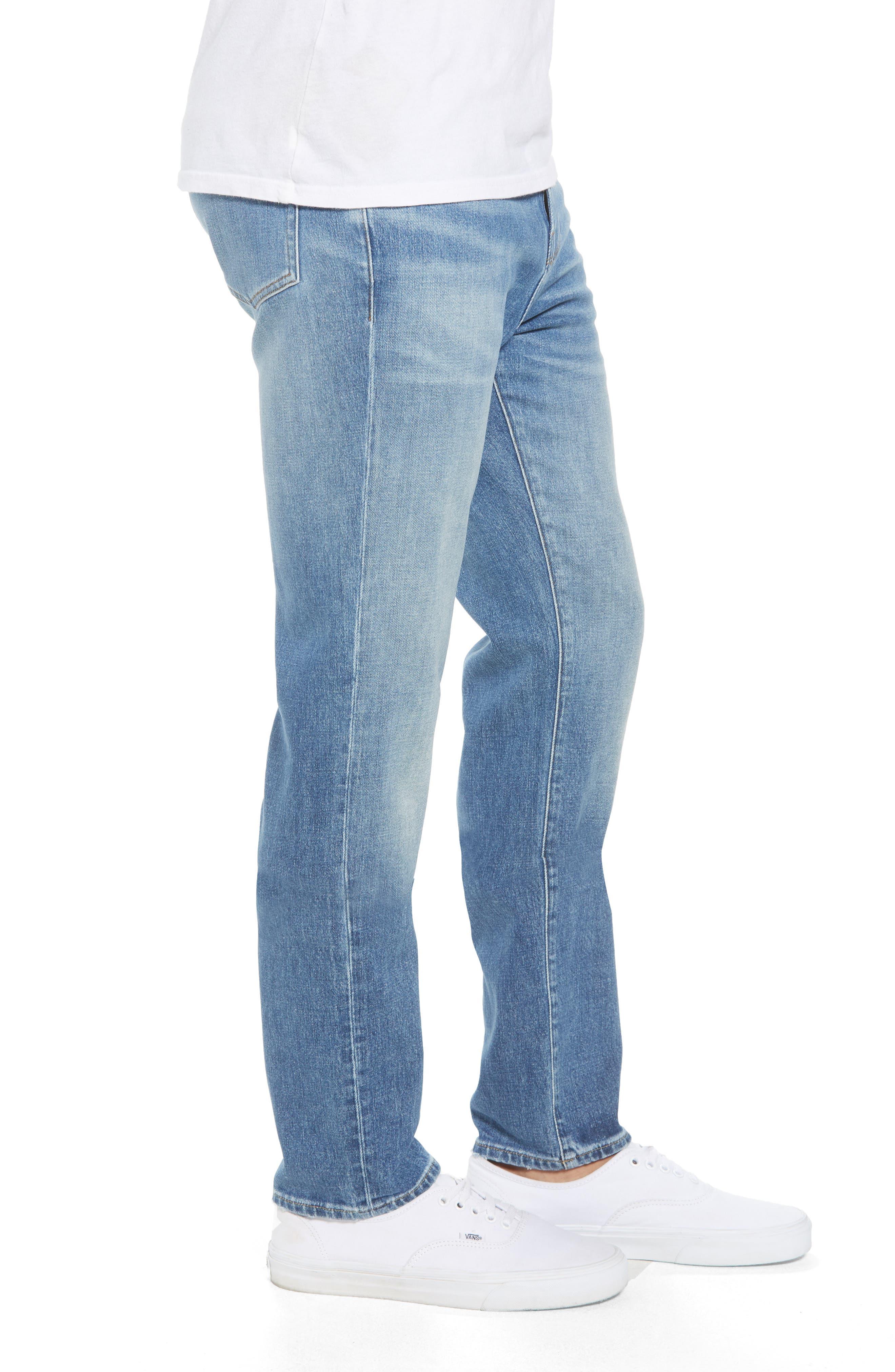 L'Homme Skinny Jeans,                             Alternate thumbnail 3, color,                             PICKNEY