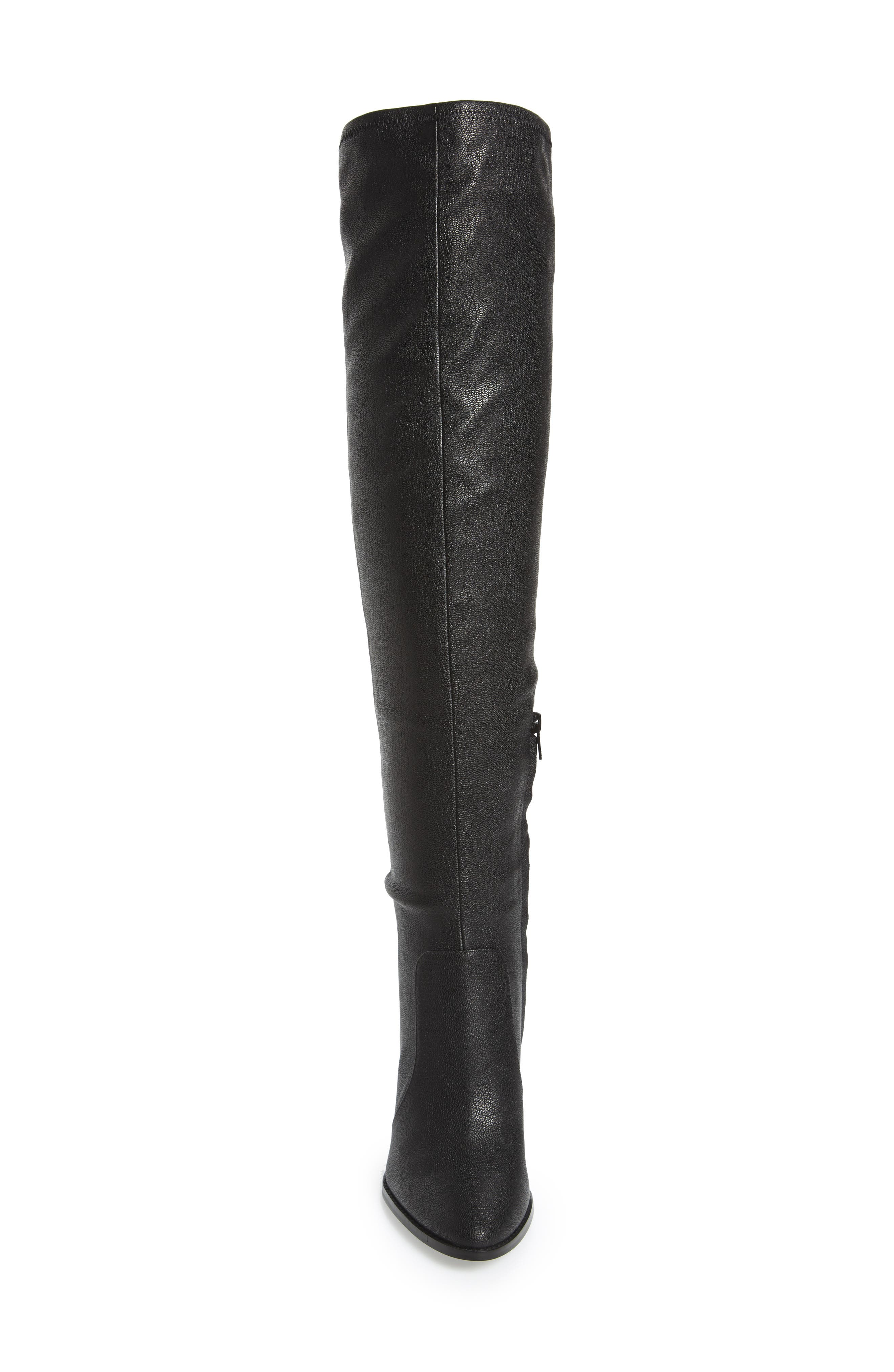 Catia Over the Knee Boot,                             Alternate thumbnail 4, color,                             001