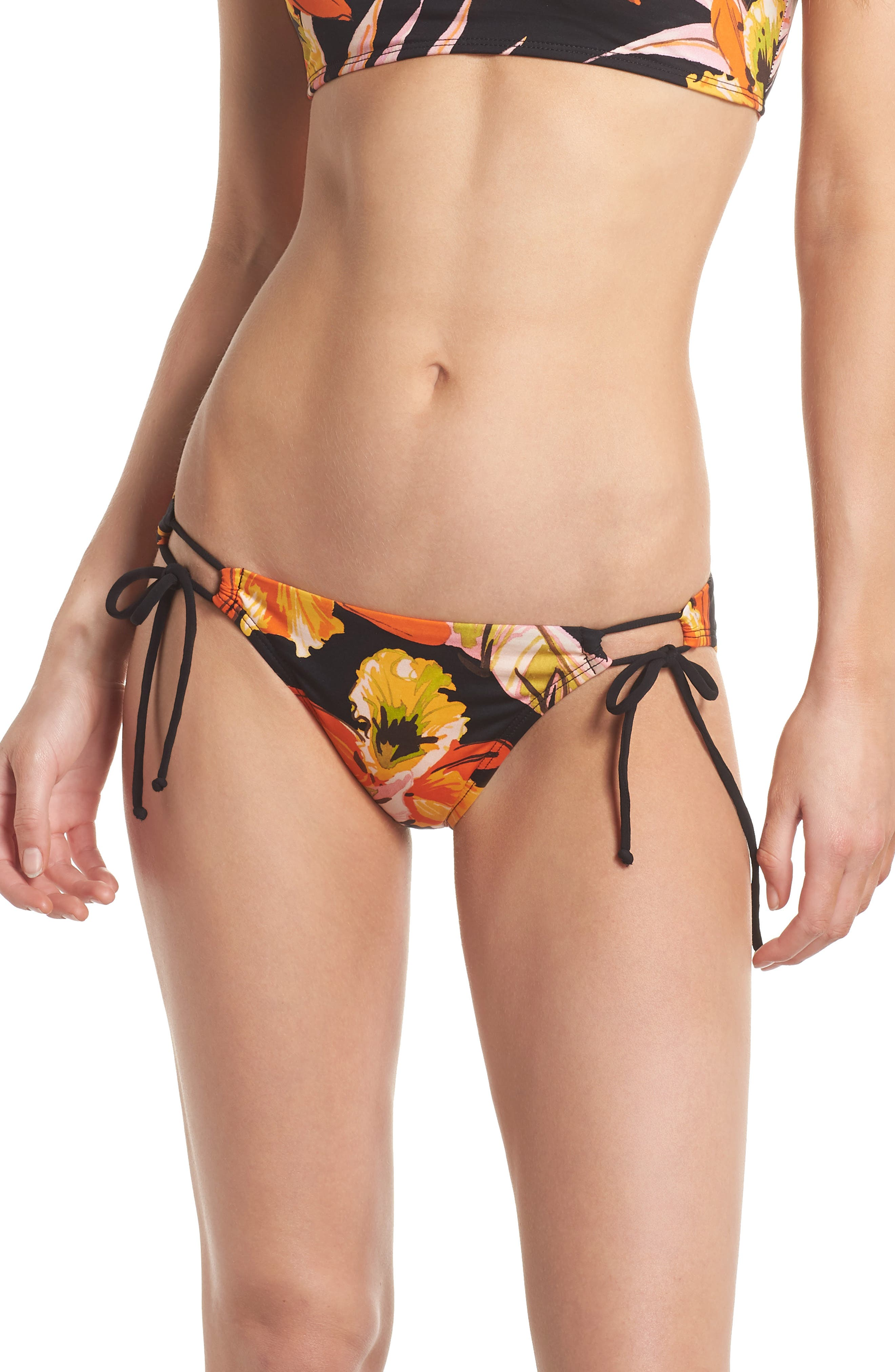 Mila Side Tie Bikini Bottoms,                         Main,                         color,