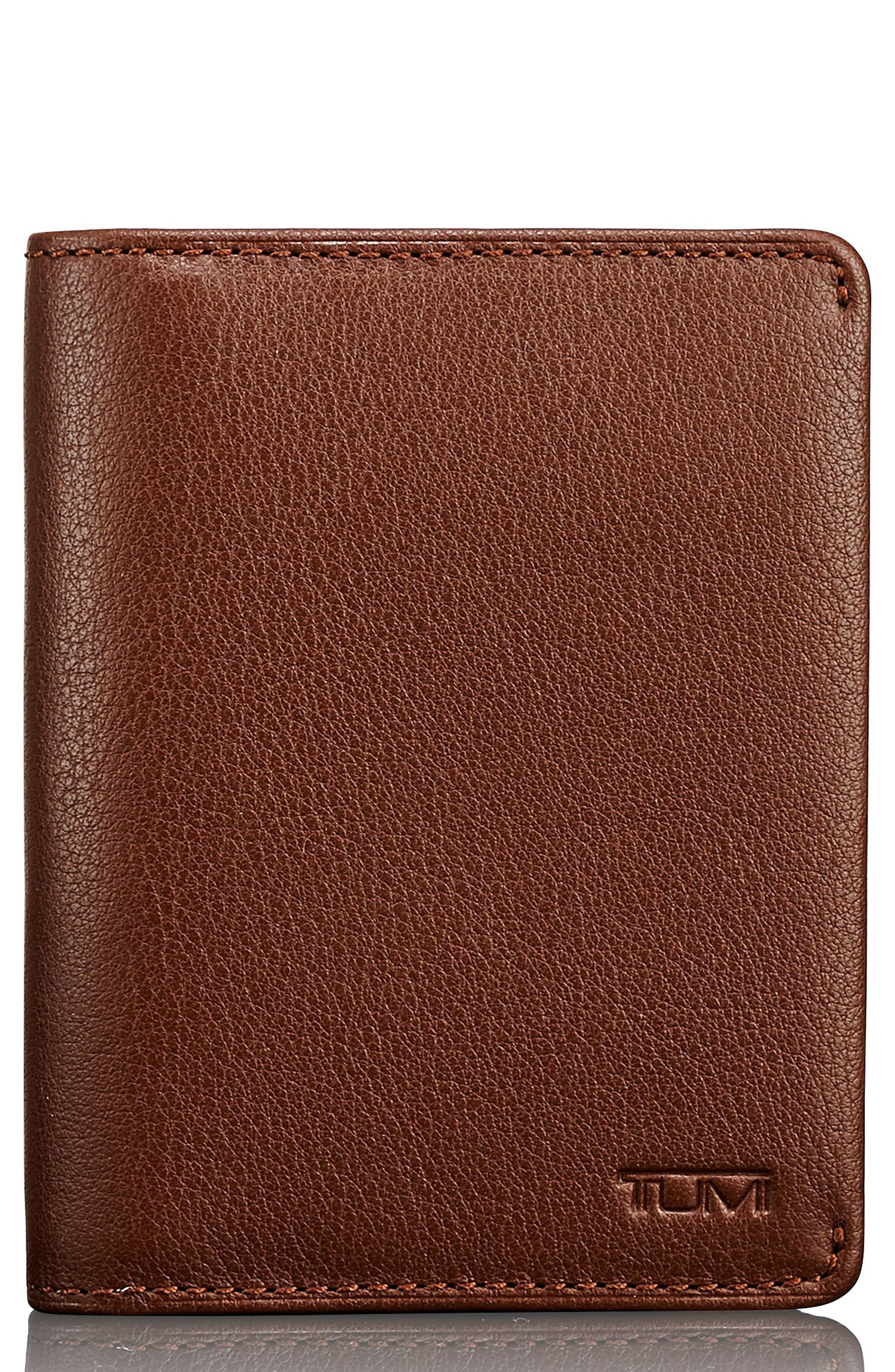 Leather Card Case,                             Main thumbnail 2, color,