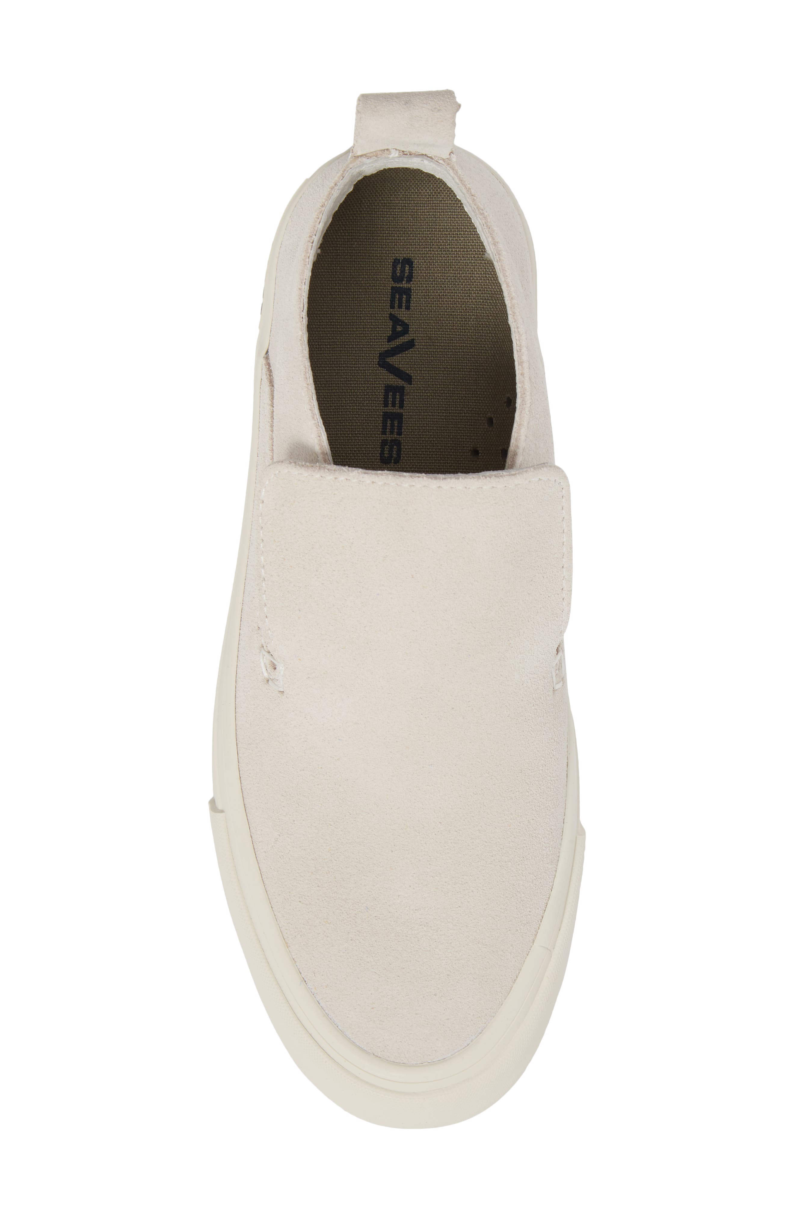 Huntington Middie Slip-On Sneaker,                             Alternate thumbnail 5, color,                             OYSTER