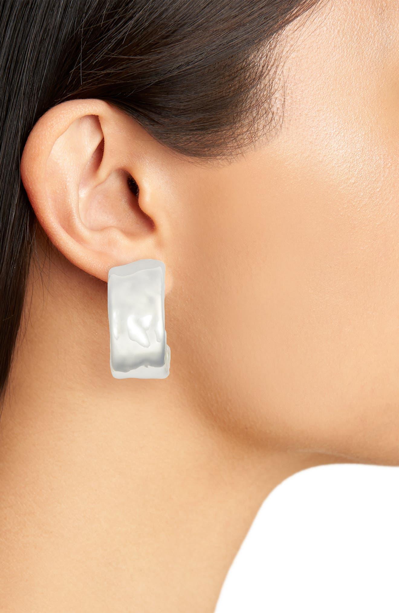 Clip Hoop Earrings,                             Alternate thumbnail 2, color,                             040