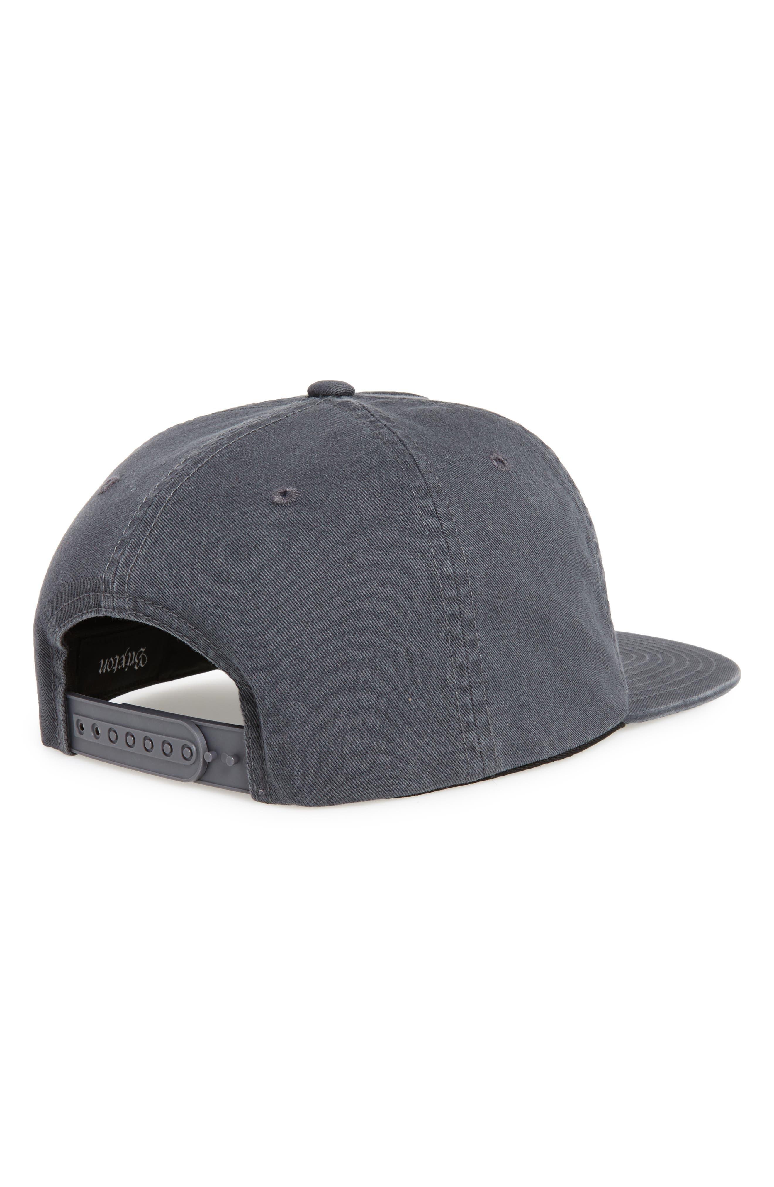 Grade II Snapback Baseball Cap,                             Alternate thumbnail 3, color,