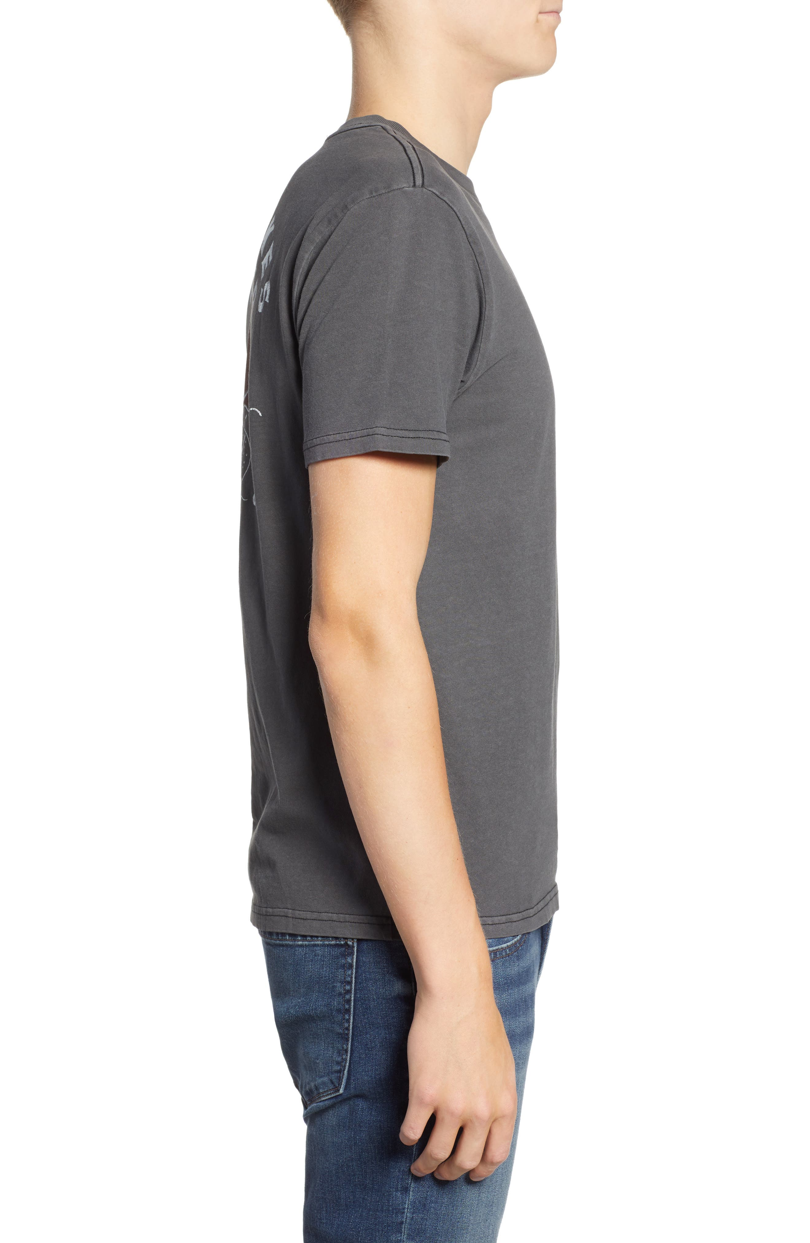 Snaked Graphic T-Shirt,                             Alternate thumbnail 3, color,                             001