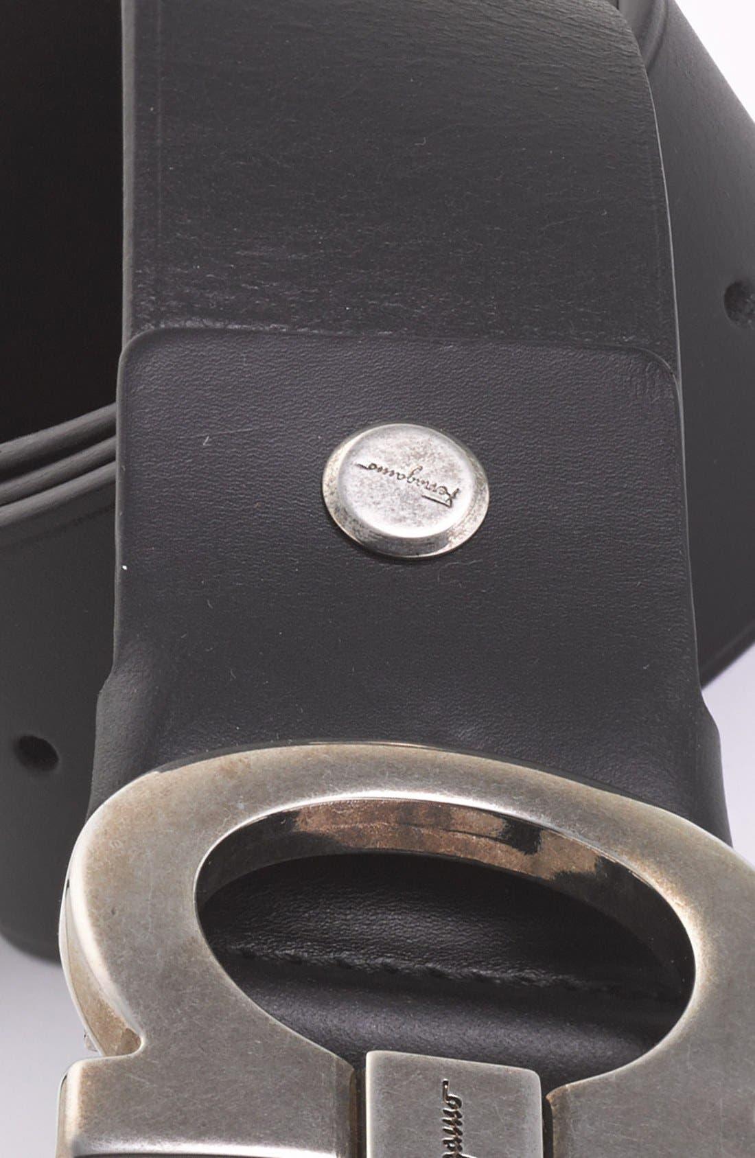 Calfskin Belt,                             Alternate thumbnail 9, color,