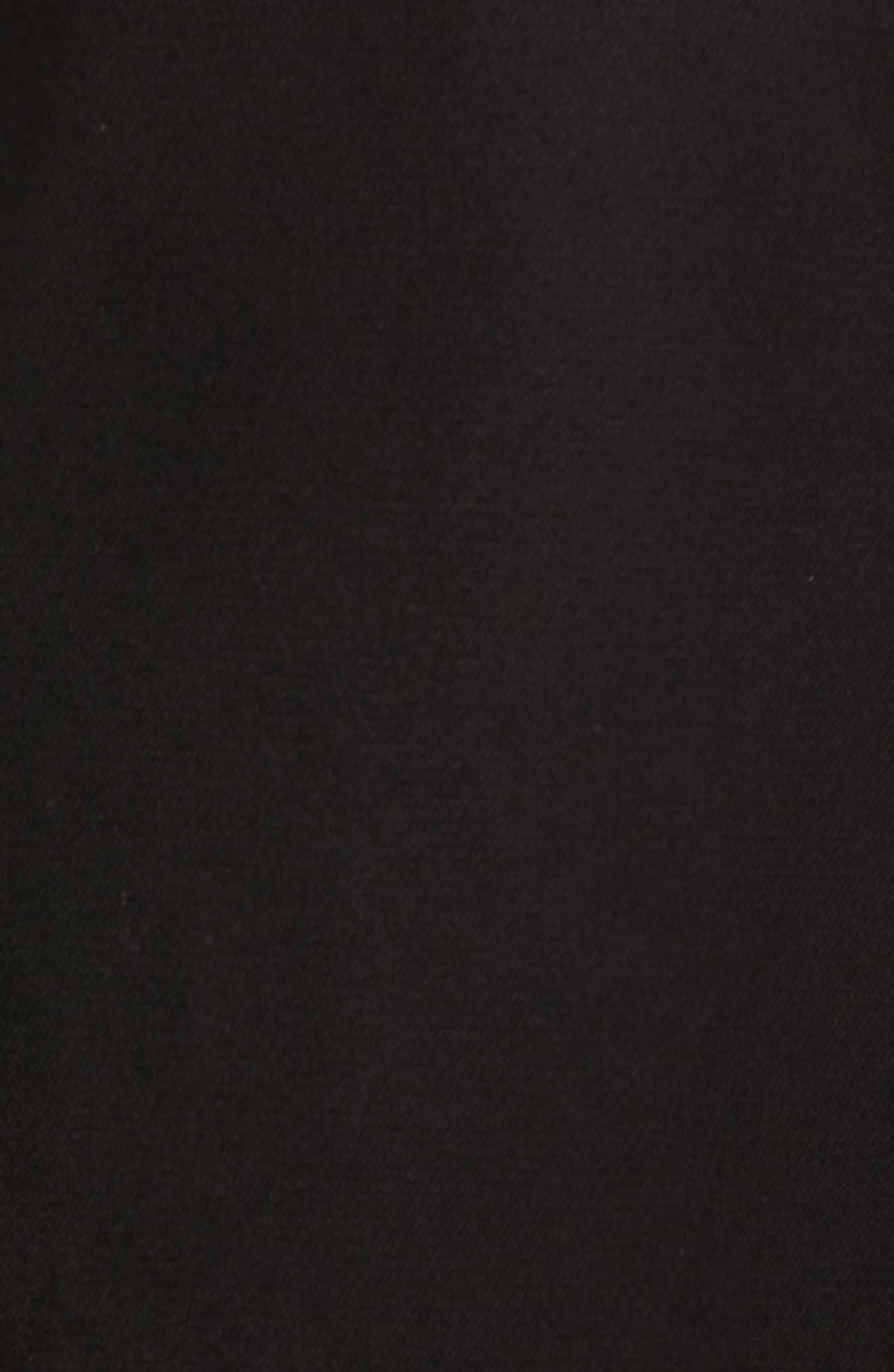 Oroy Regular Fit Field Jacket,                             Alternate thumbnail 6, color,                             BLACK