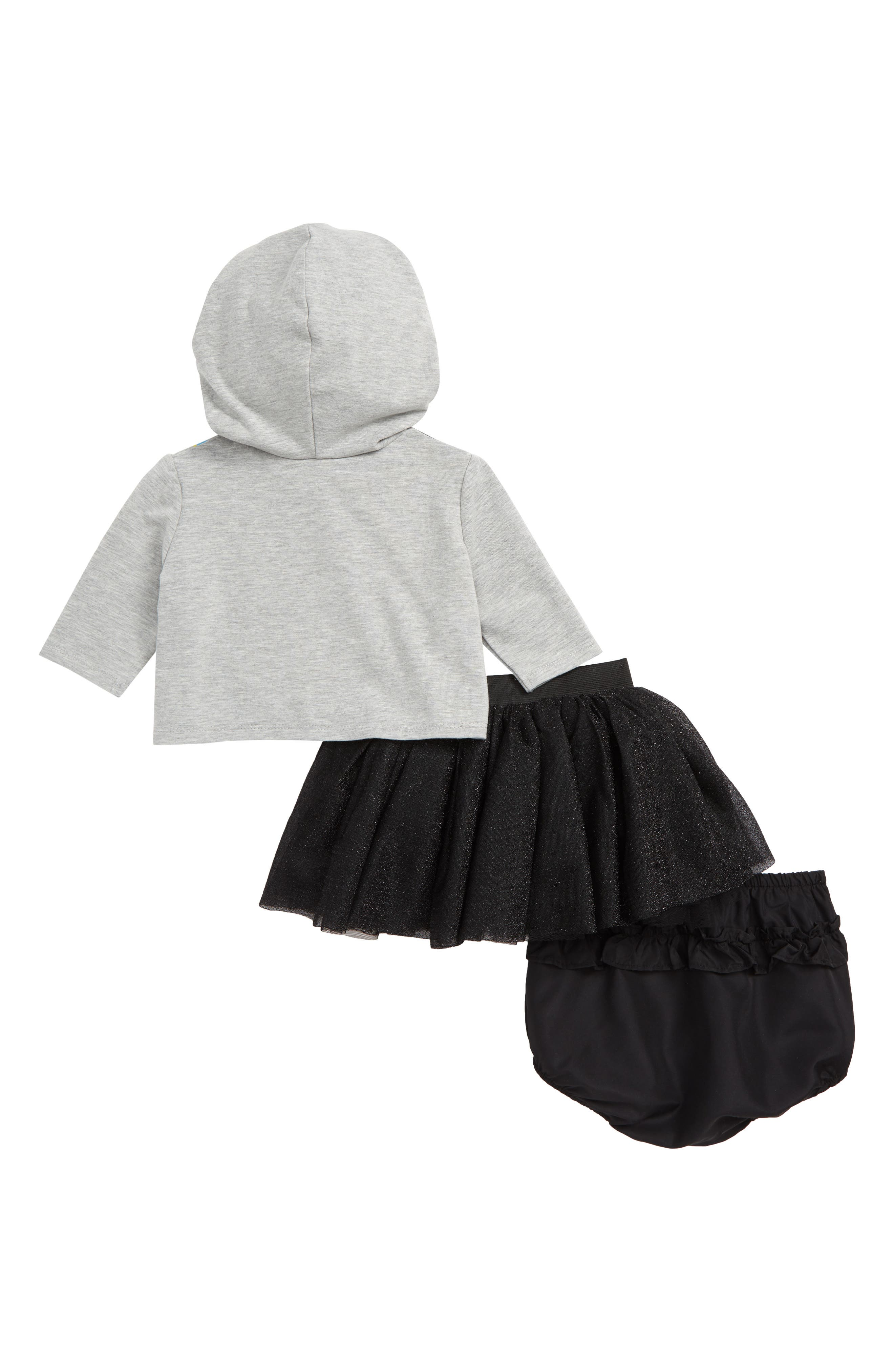 x Disney<sup>®</sup> Mickey Mouse Hoodie, Tutu & Bloomers Set,                             Alternate thumbnail 2, color,                             020