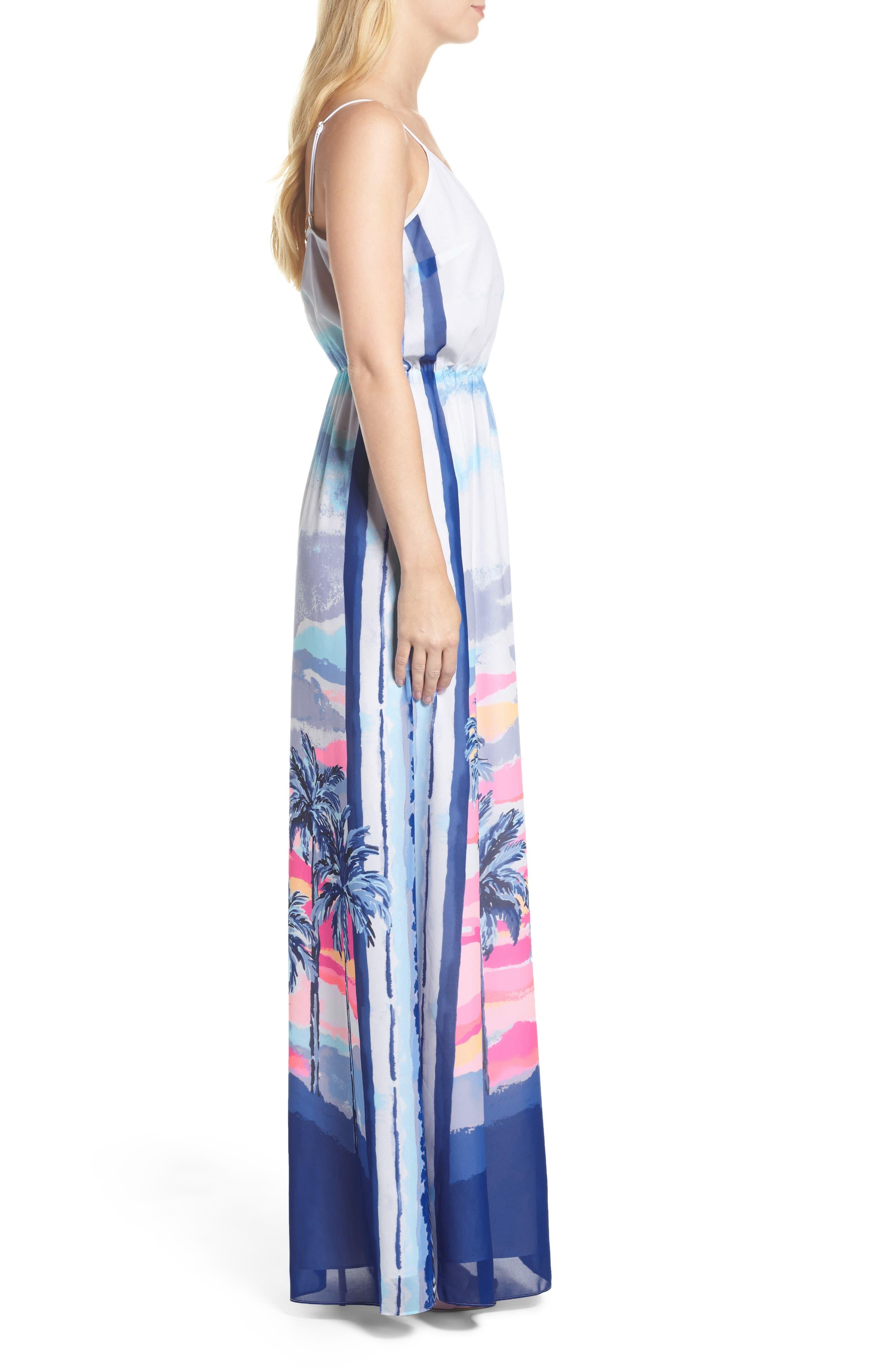 Deanna Maxi Dress,                             Alternate thumbnail 3, color,                             697