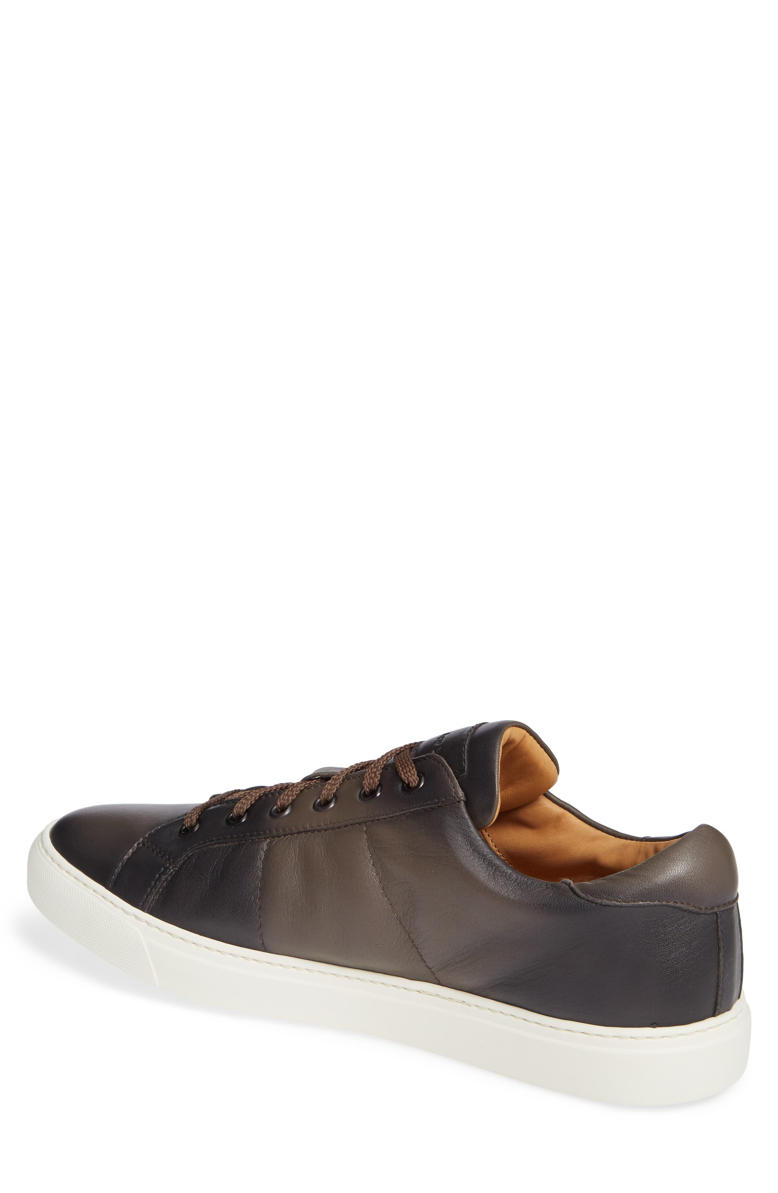 Colton Sneaker,                             Alternate thumbnail 2, color,                             TAUPE GREY LEATHER