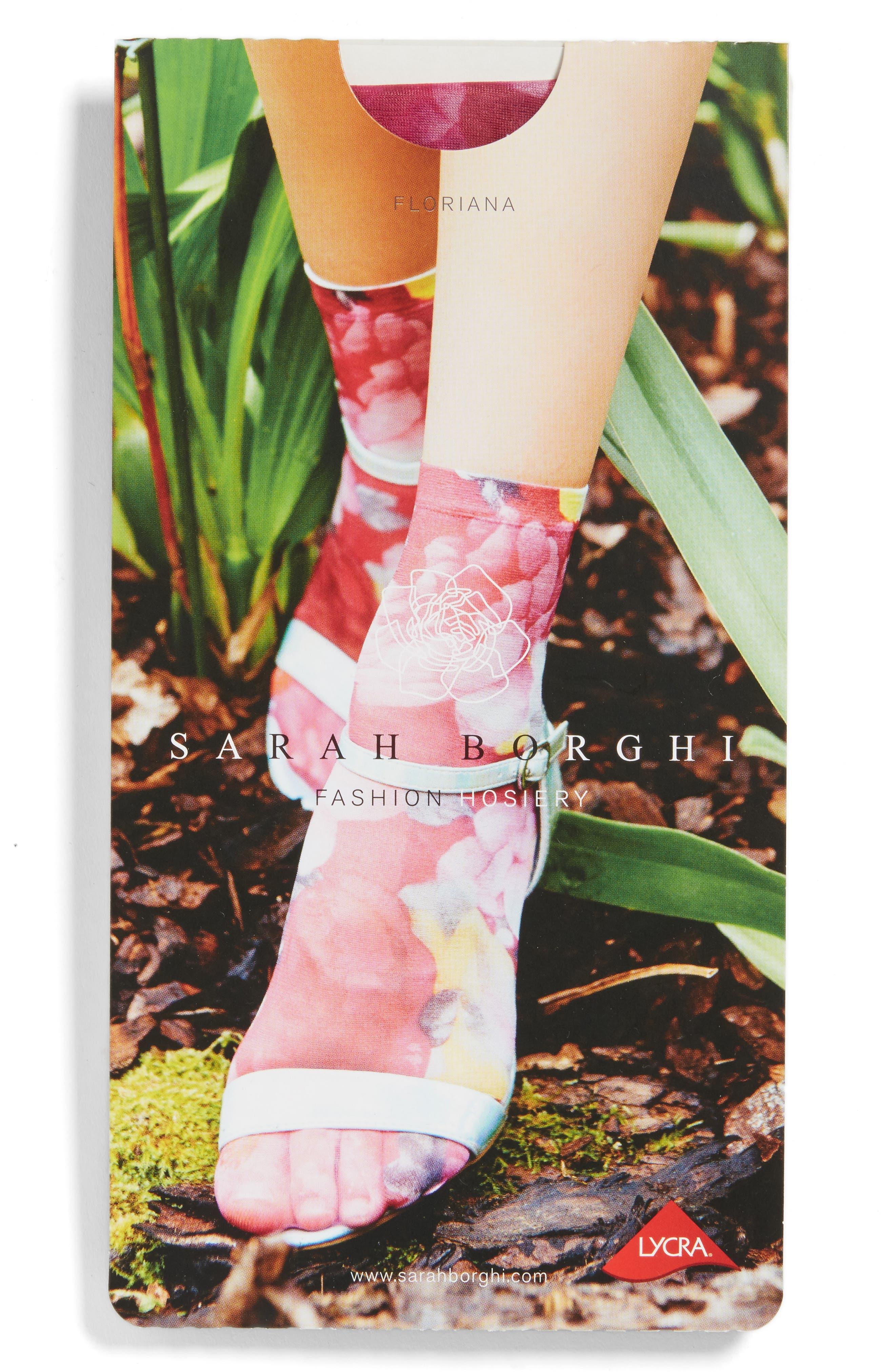 Floriana Ankle Socks,                             Alternate thumbnail 2, color,                             650