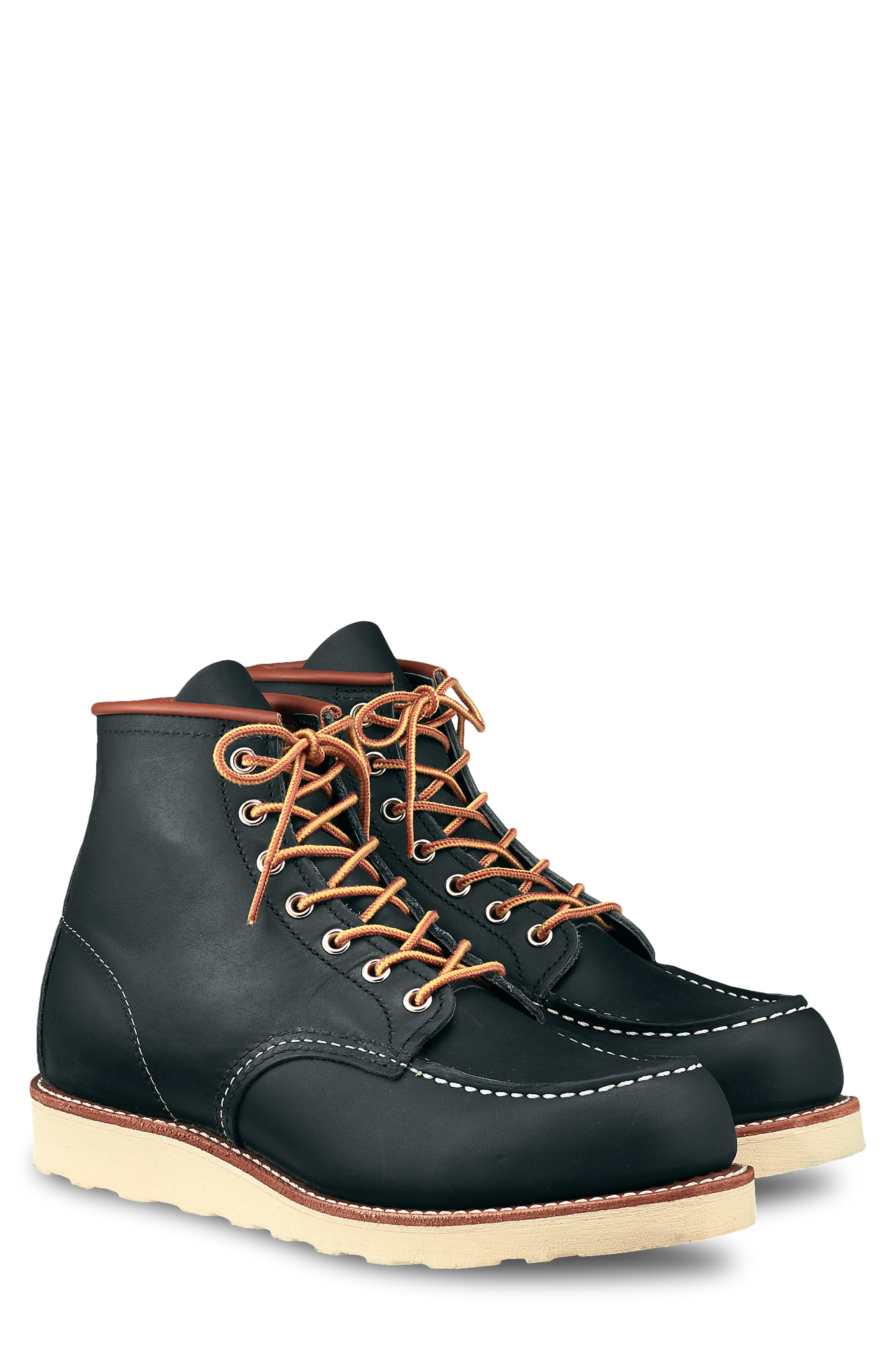 Red Wing 6 Inch Moc Toe Boot - Blue
