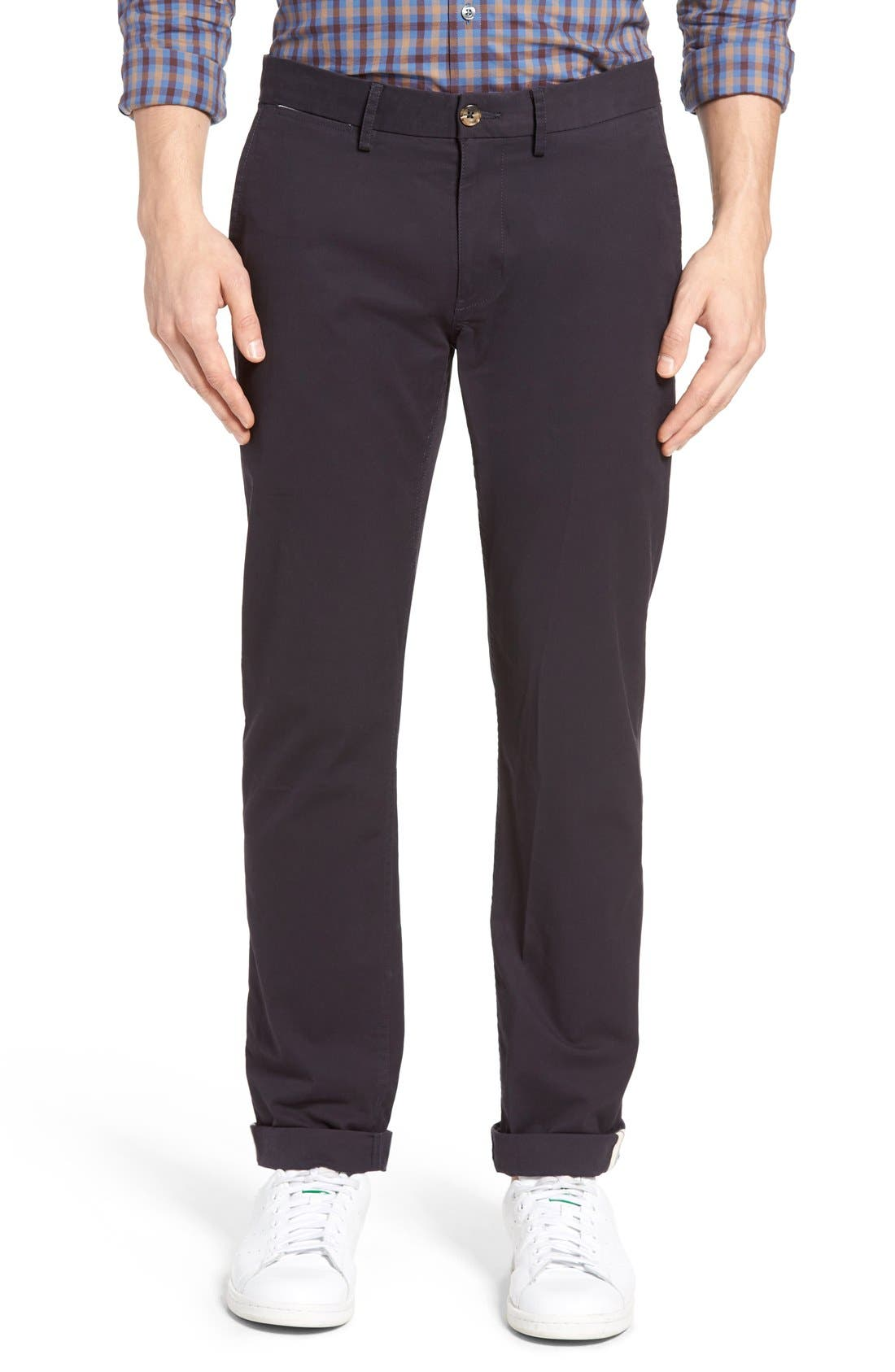 Slim Fit Stretch Chinos,                             Alternate thumbnail 71, color,
