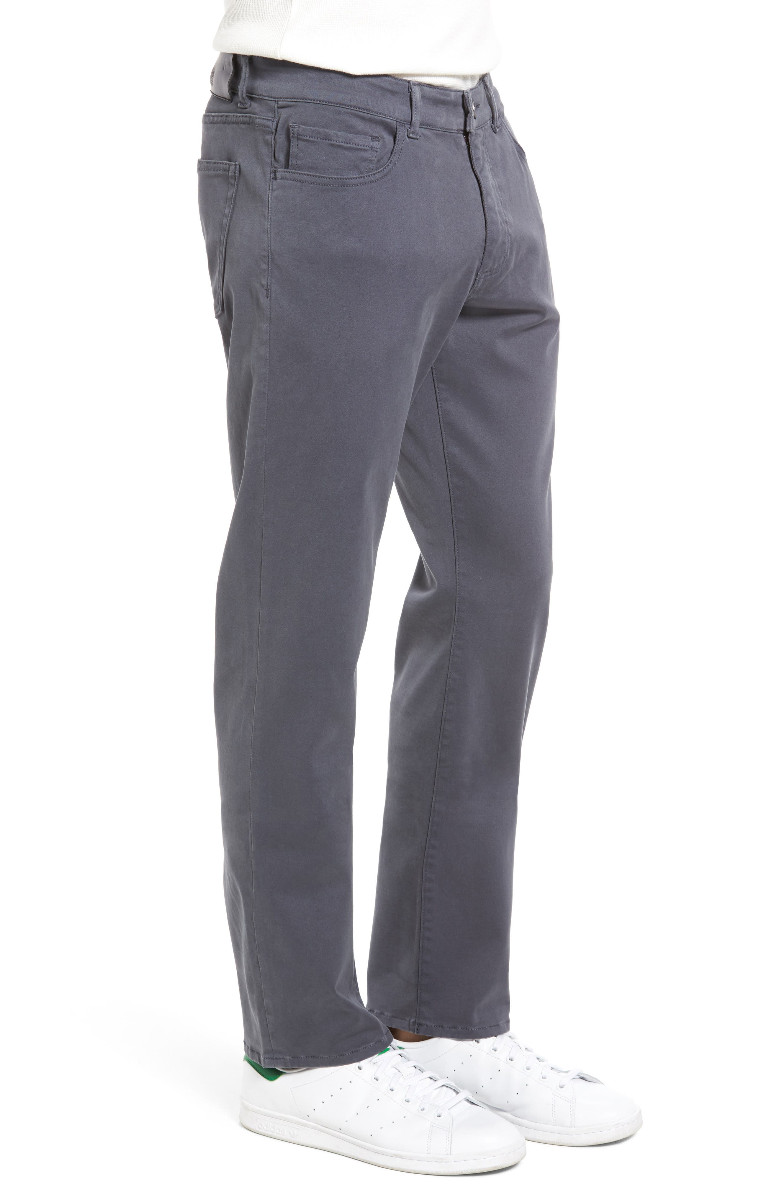 Russell Slim Fit Sateen Twill Pants,                             Alternate thumbnail 30, color,