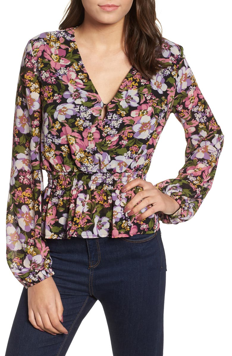 Pretty Floral Top | Nordstrom