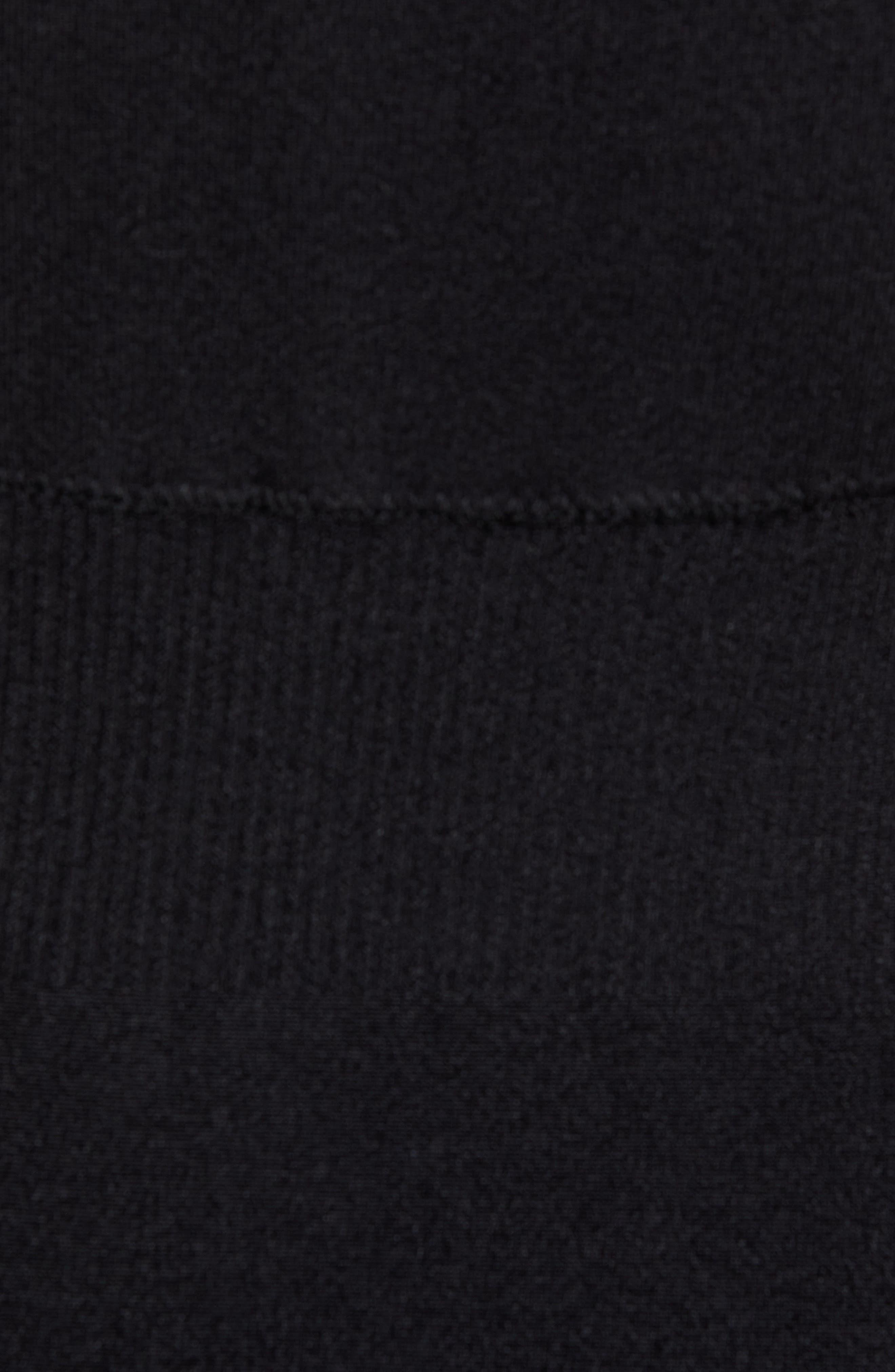 IVY PARK<SUP>®</SUP>,                             Mesh Panel Convertible Bodysuit,                             Alternate thumbnail 6, color,                             001