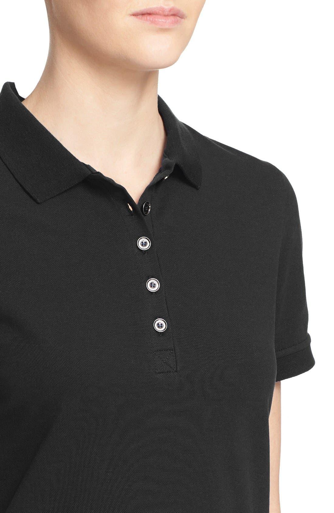 Short Sleeve Polo,                             Alternate thumbnail 6, color,                             001