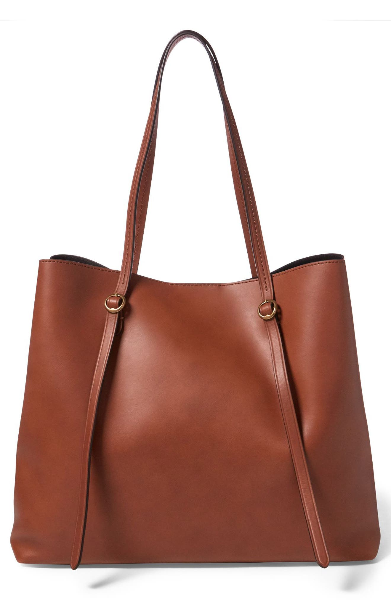 Lennox Leather Tote,                             Alternate thumbnail 2, color,                             200
