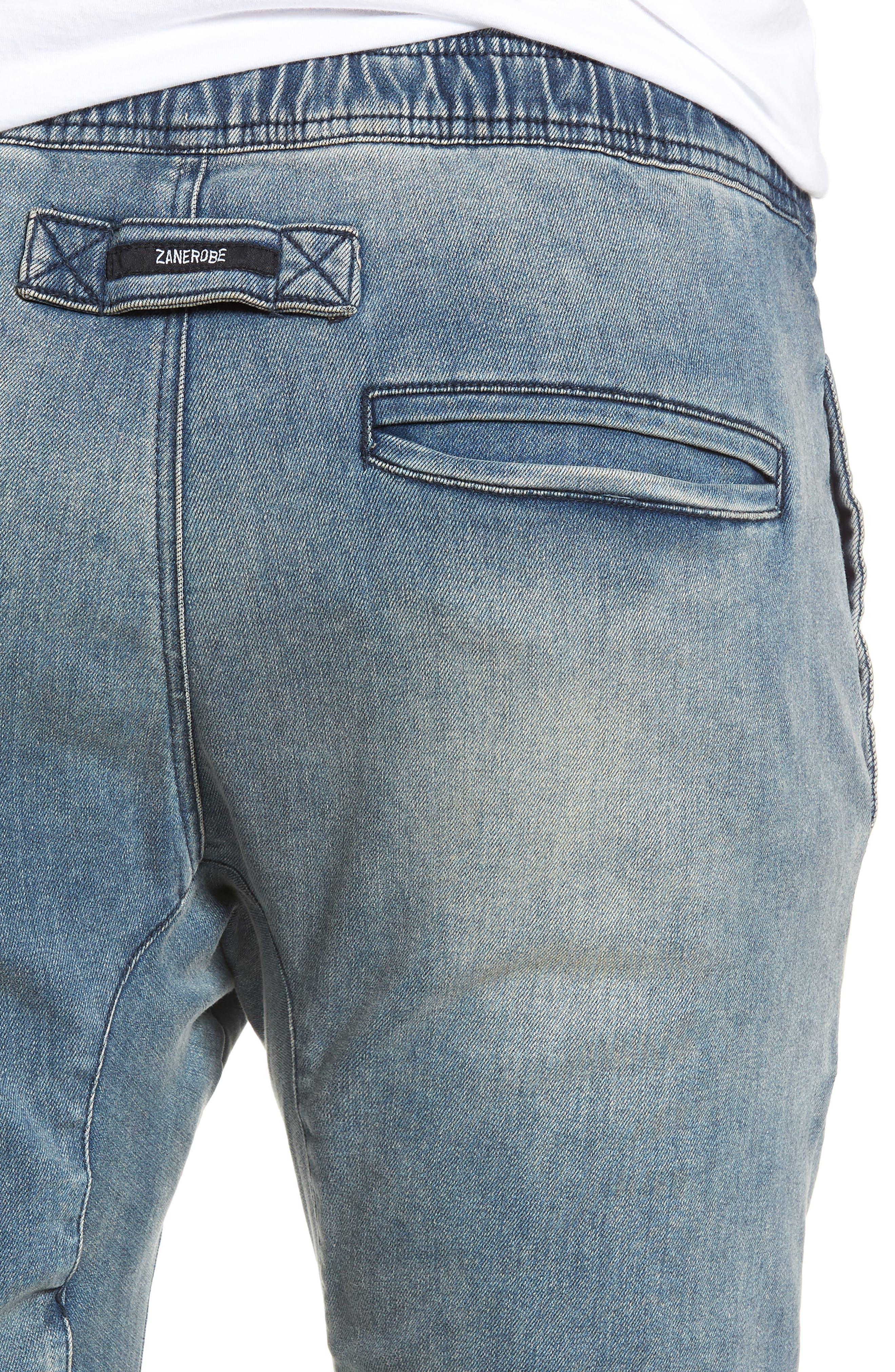 Salerno Flex Jeans,                             Alternate thumbnail 4, color,                             ABANDONED BLUE