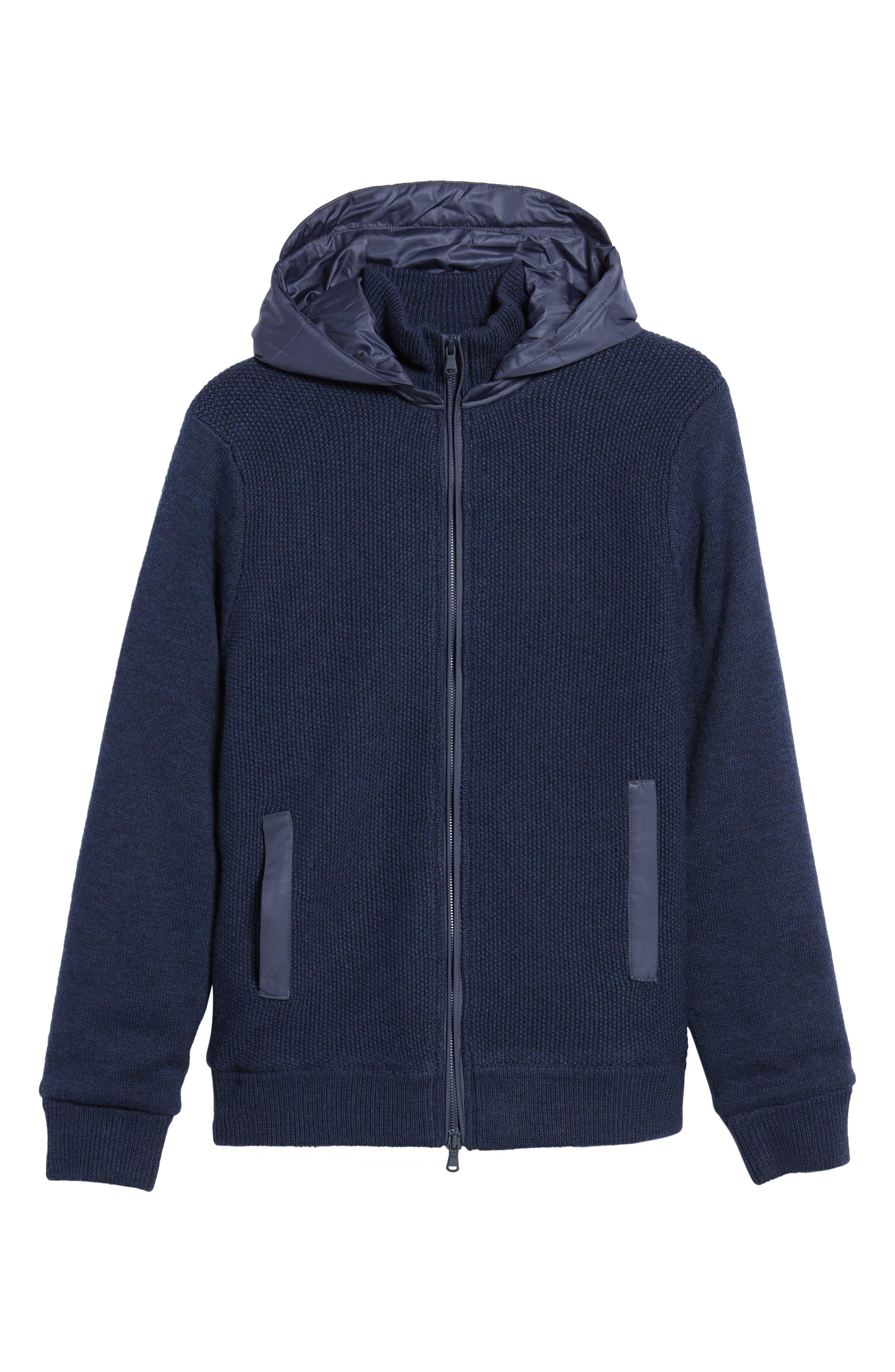 Haydon Merino Wool Sweater Jacket,                             Alternate thumbnail 6, color,                             410
