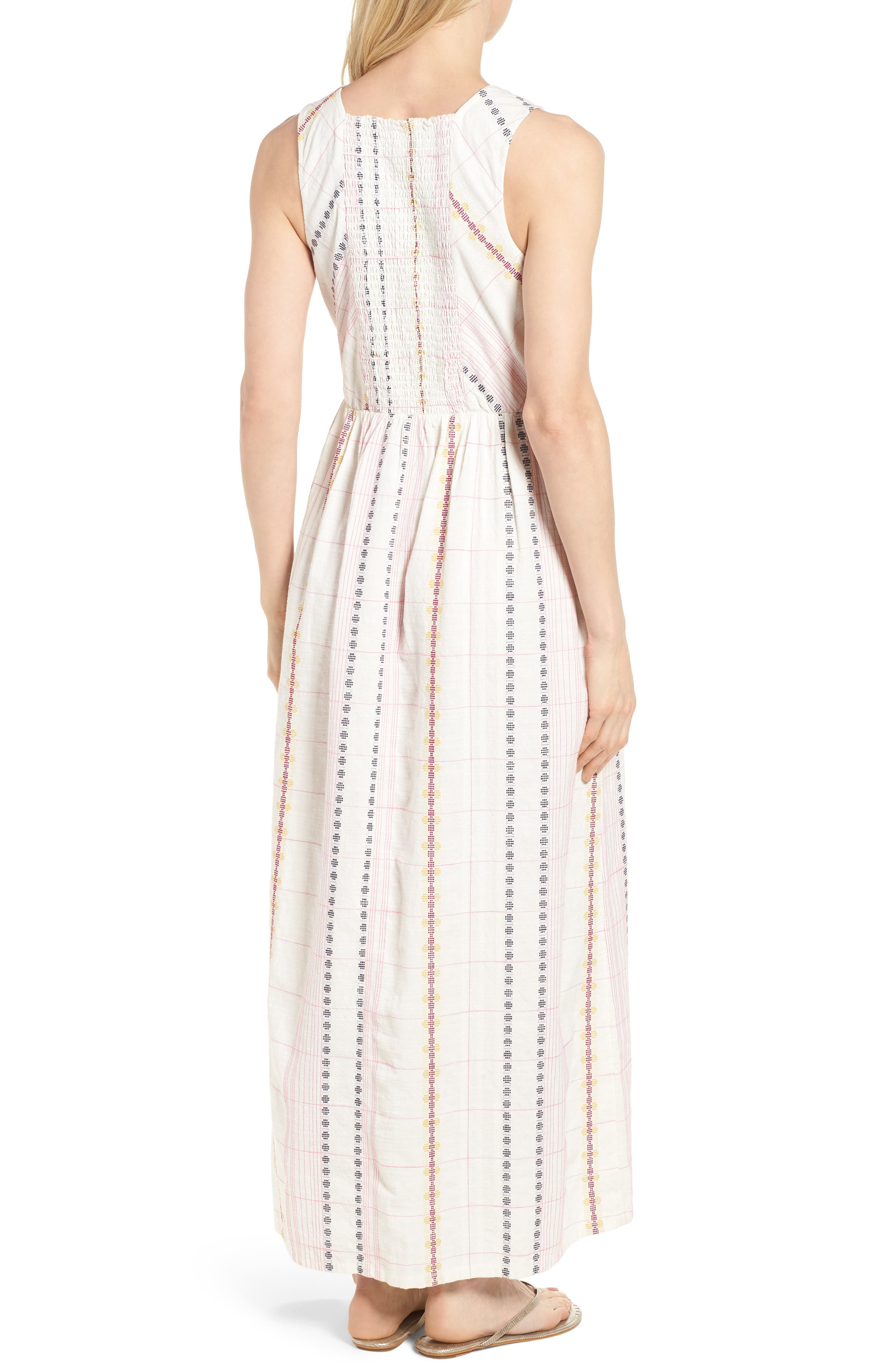 Smocked Back Maxi Dress,                             Alternate thumbnail 2, color,