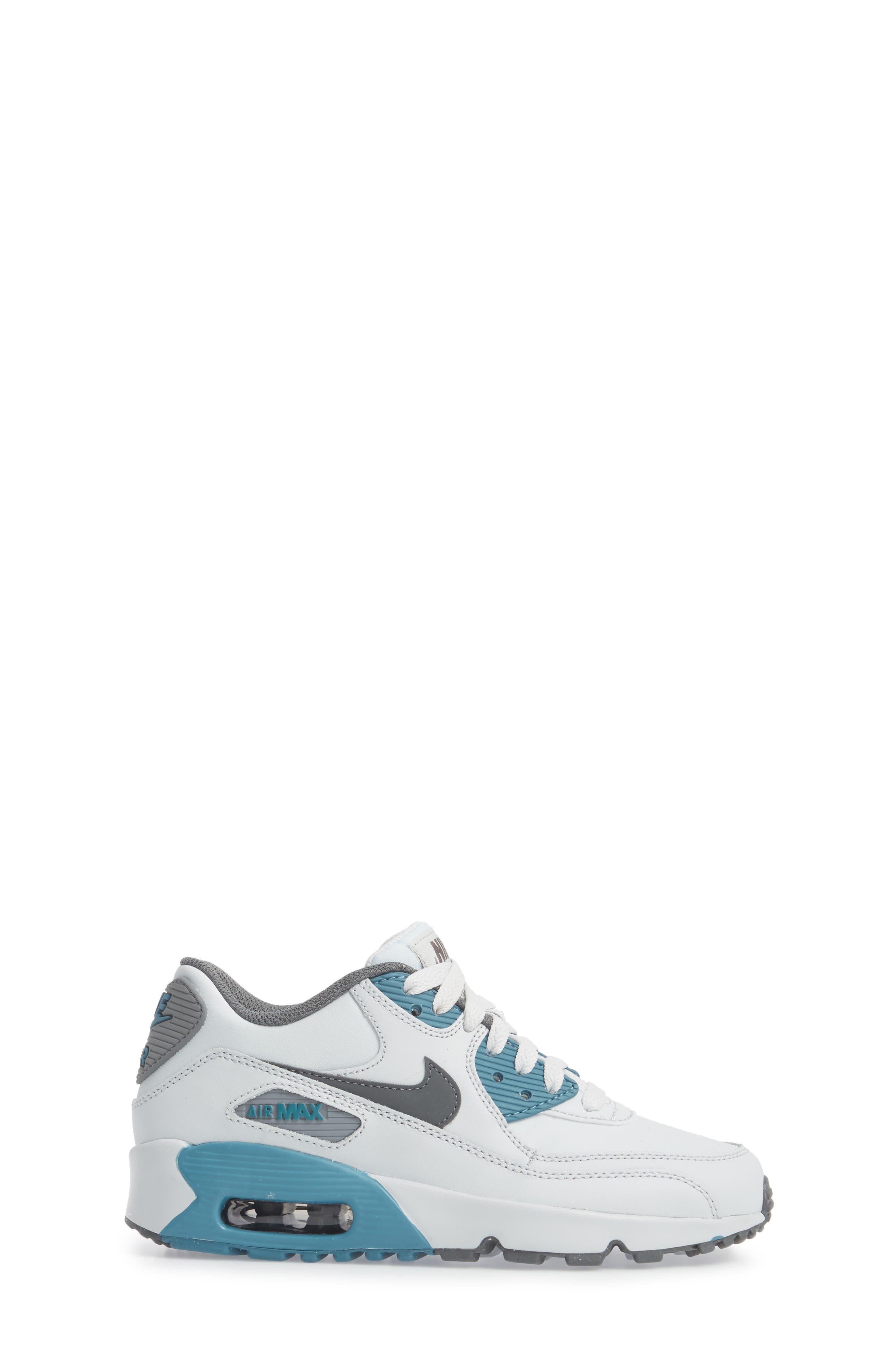 Air Max 90 Sneaker,                             Alternate thumbnail 3, color,                             040