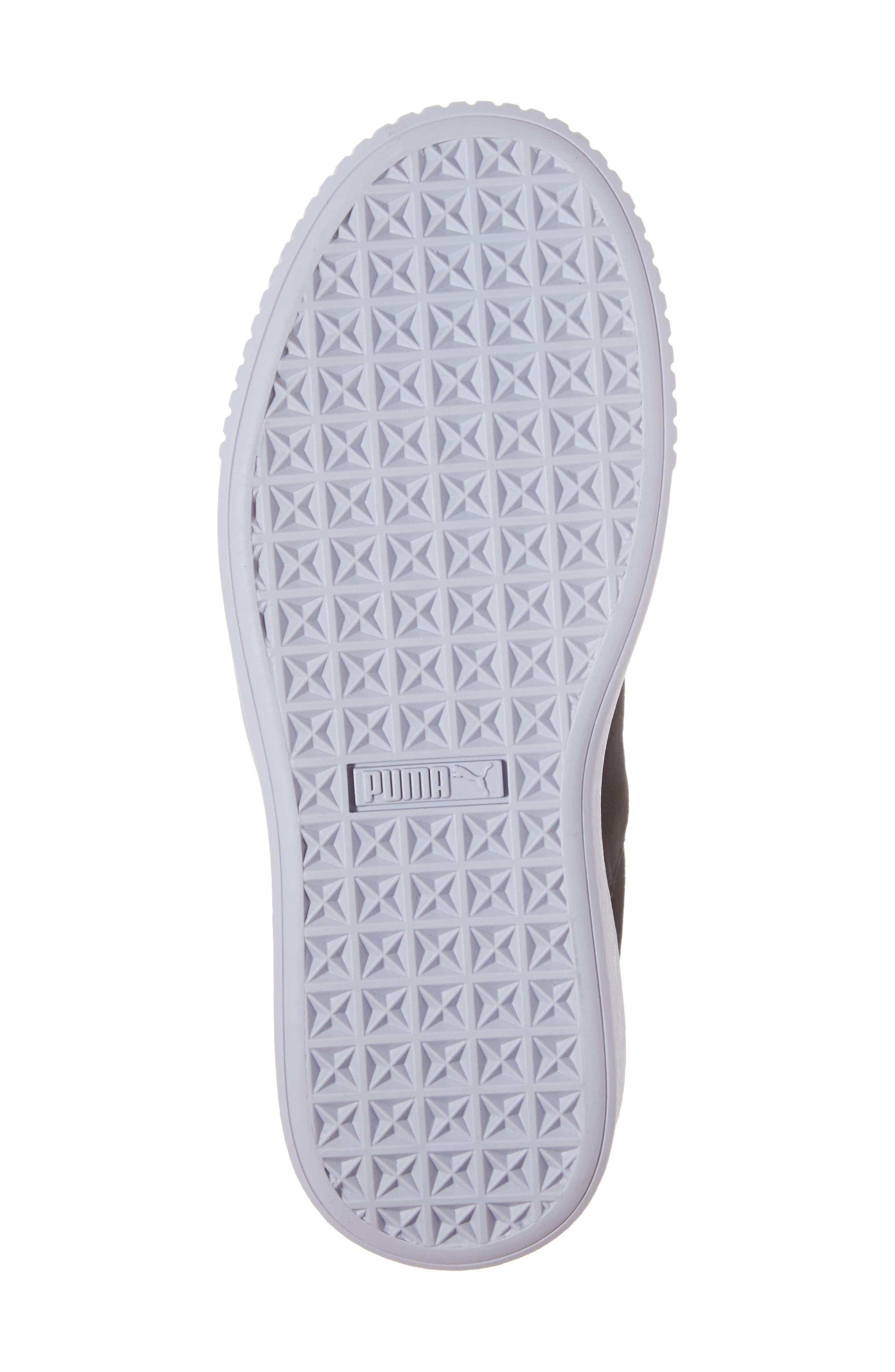 Basket Platform Sneaker,                             Alternate thumbnail 6, color,                             002