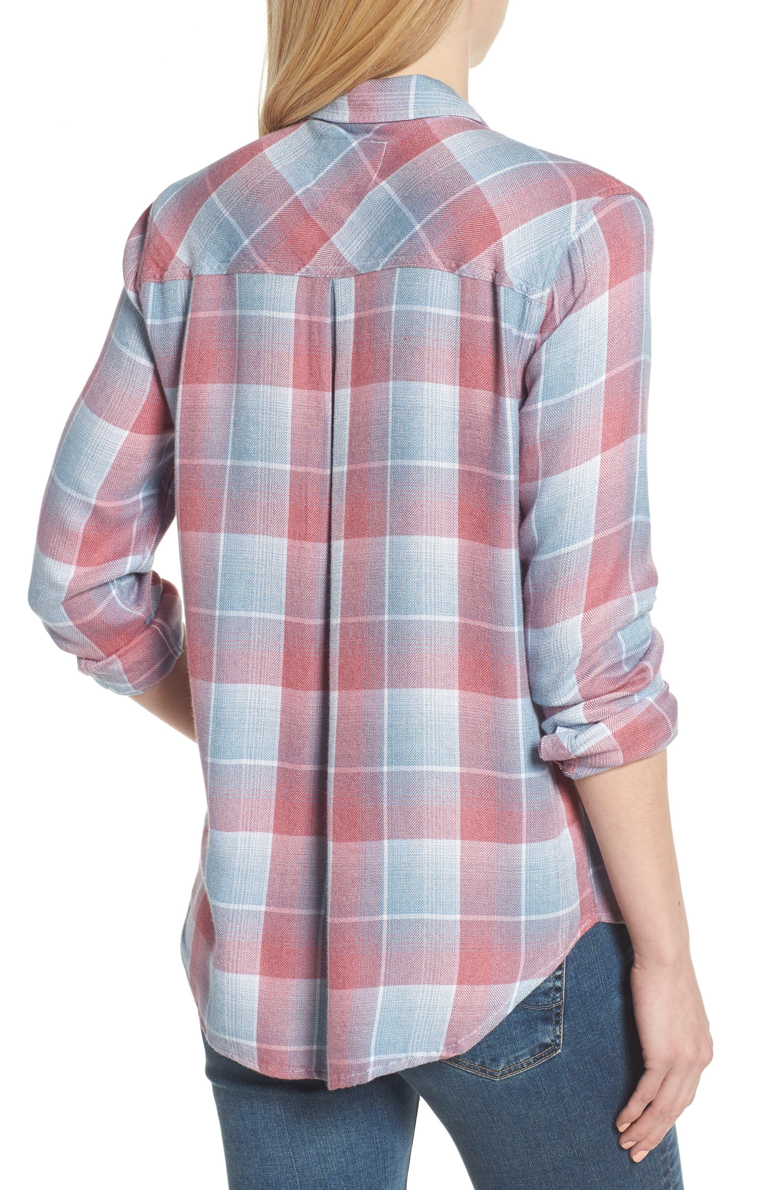 Hunter Plaid Shirt,                             Alternate thumbnail 222, color,
