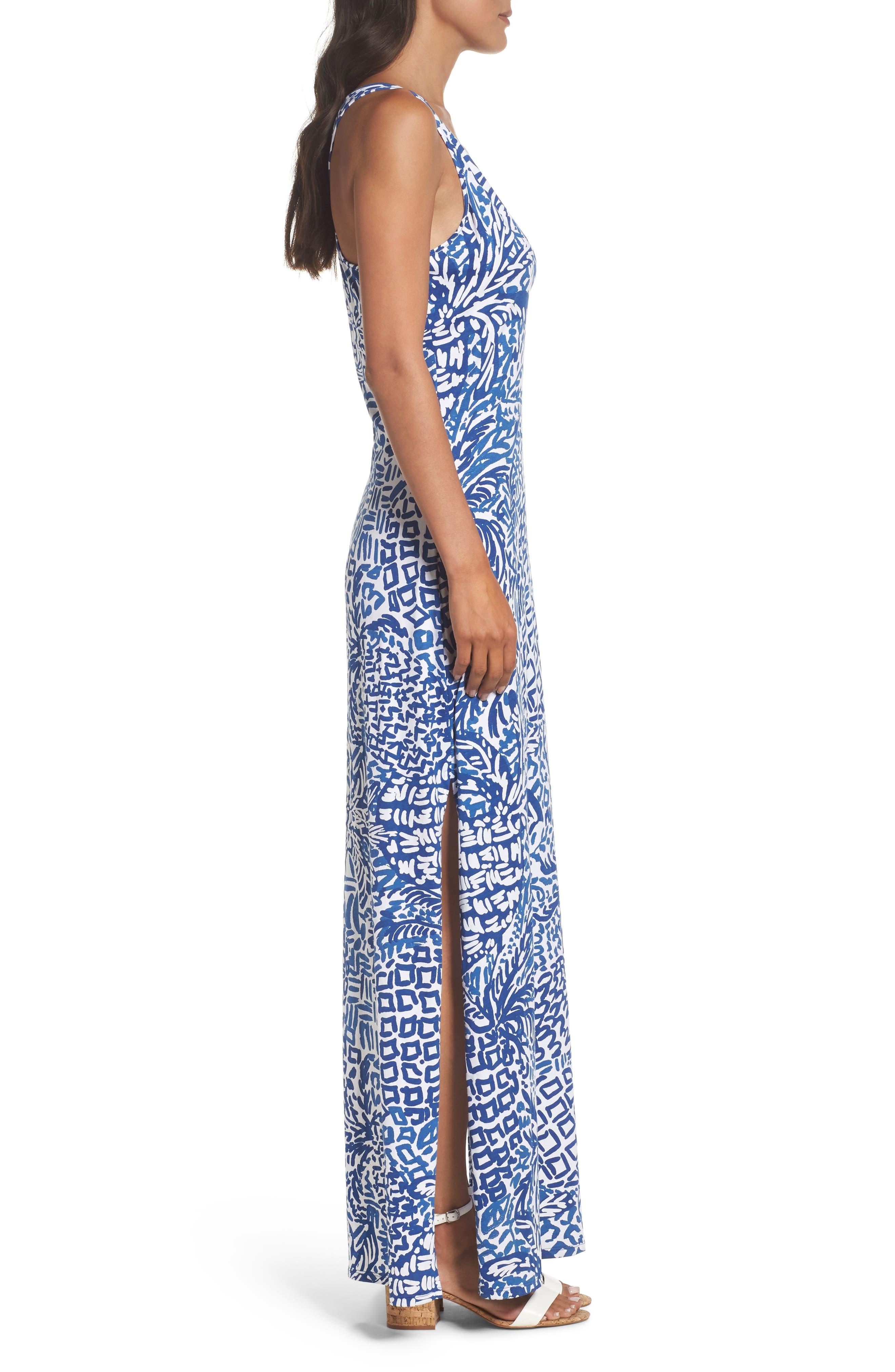 Kerri Maxi Dress,                             Alternate thumbnail 3, color,                             427