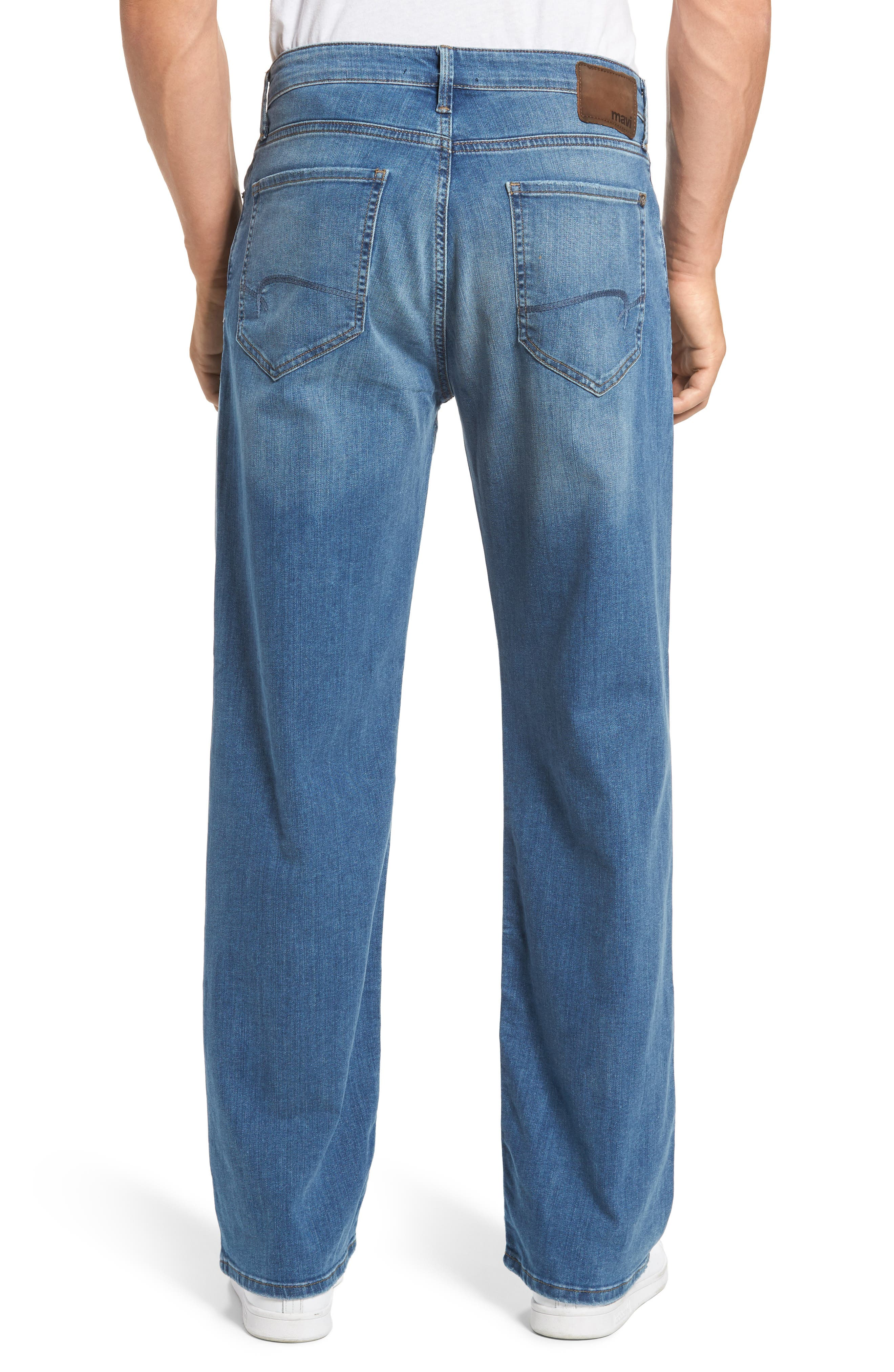 Max Relaxed Fit Jeans,                             Alternate thumbnail 2, color,                             401