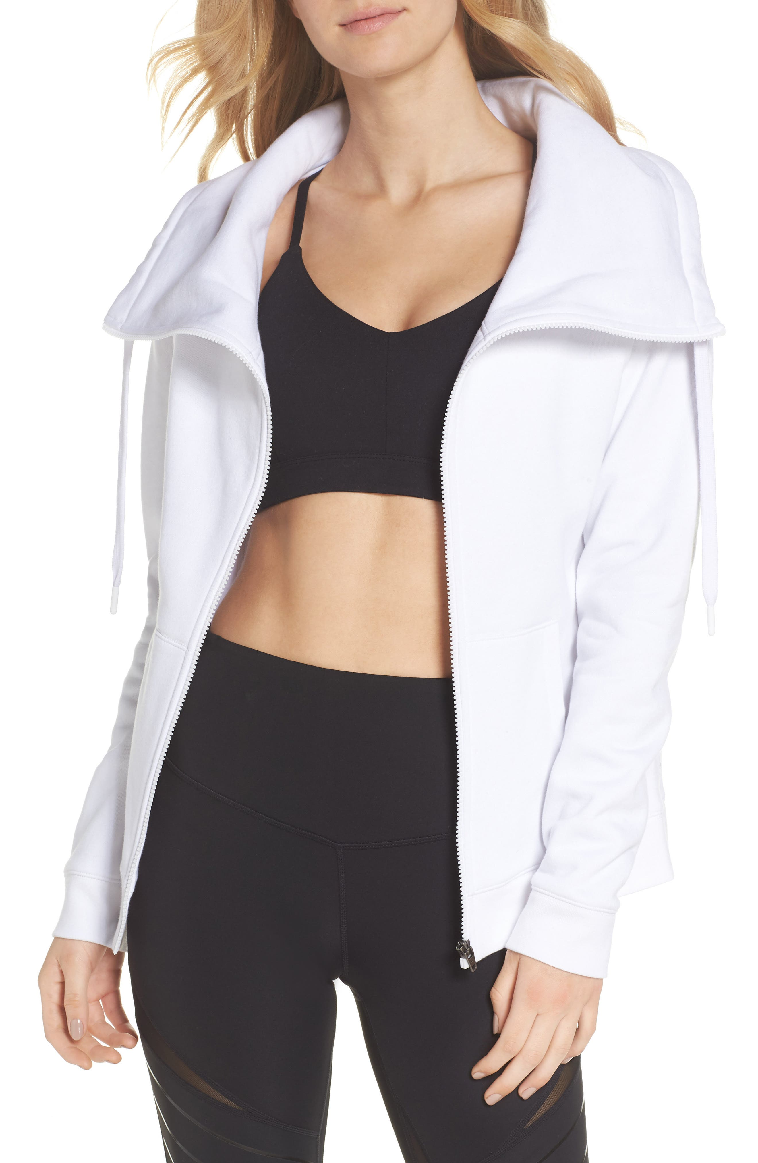 Old School Daydream Jacket,                         Main,                         color, WHITE