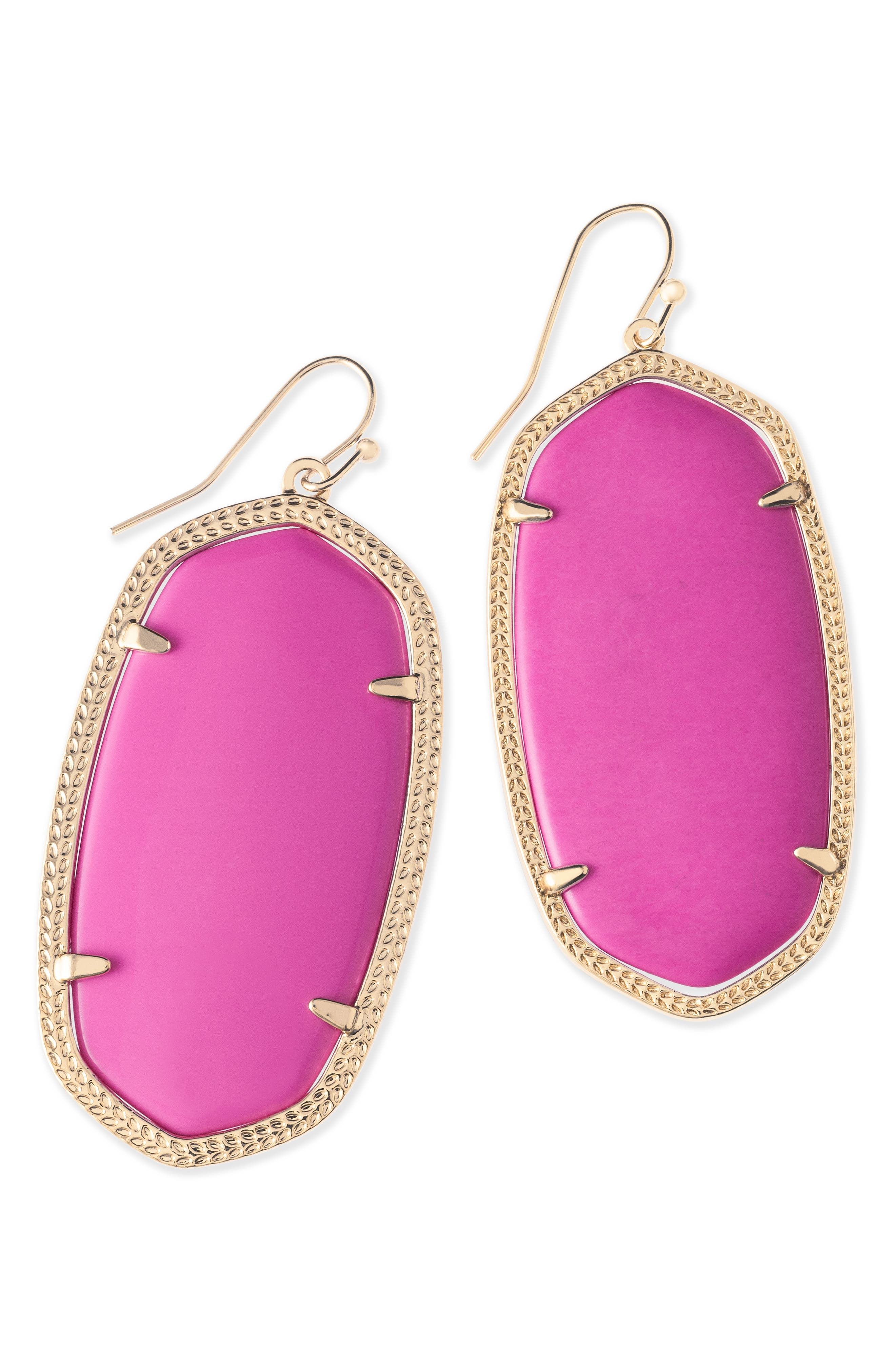 Danielle - Large Oval Statement Earrings,                             Alternate thumbnail 118, color,